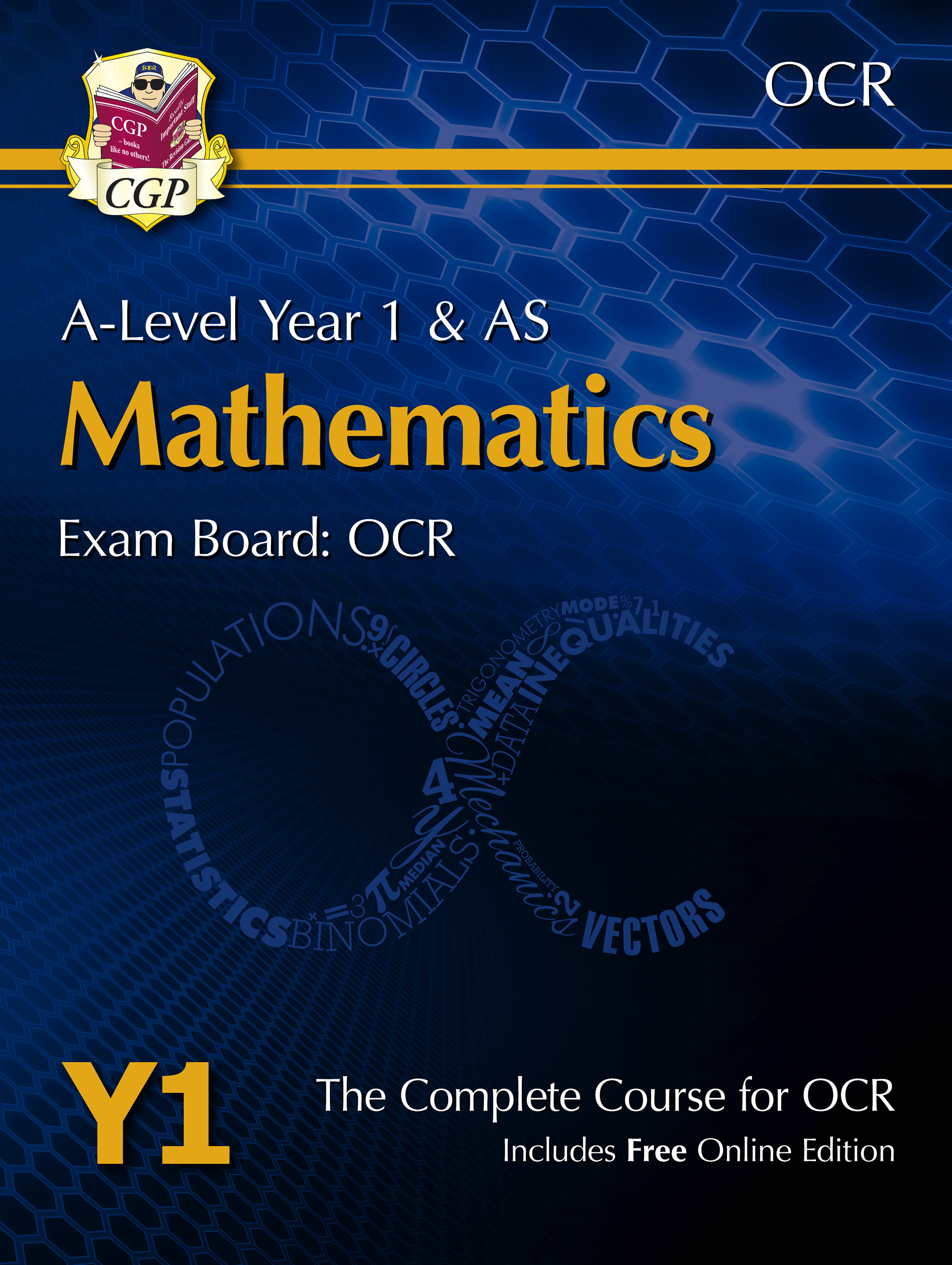 MRT51 - A-Level Maths for OCR: Year 1 & AS Student Book with Online Edition