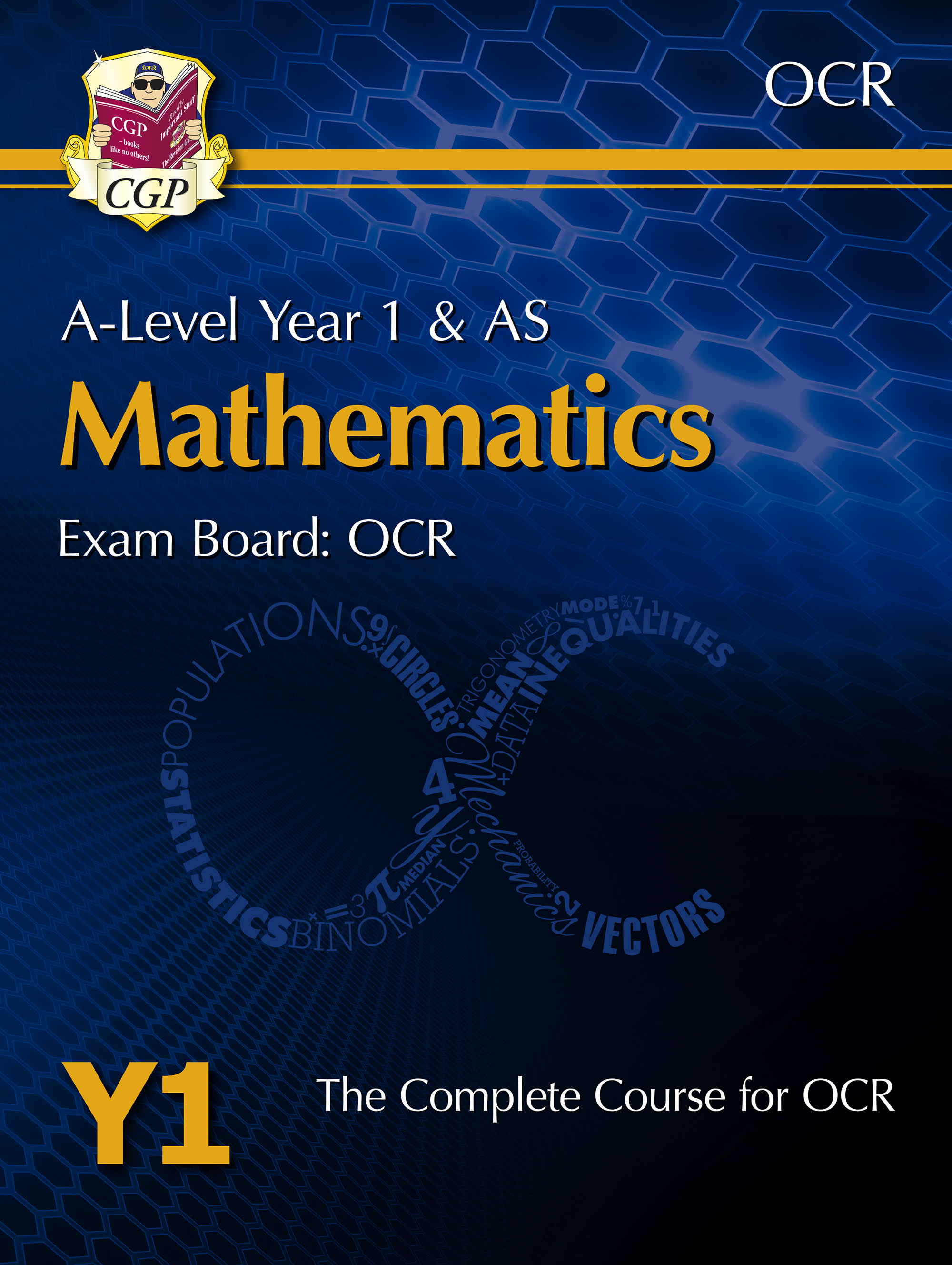 MRT51DK - New A-Level Maths for OCR: Year 1 & AS Student Book