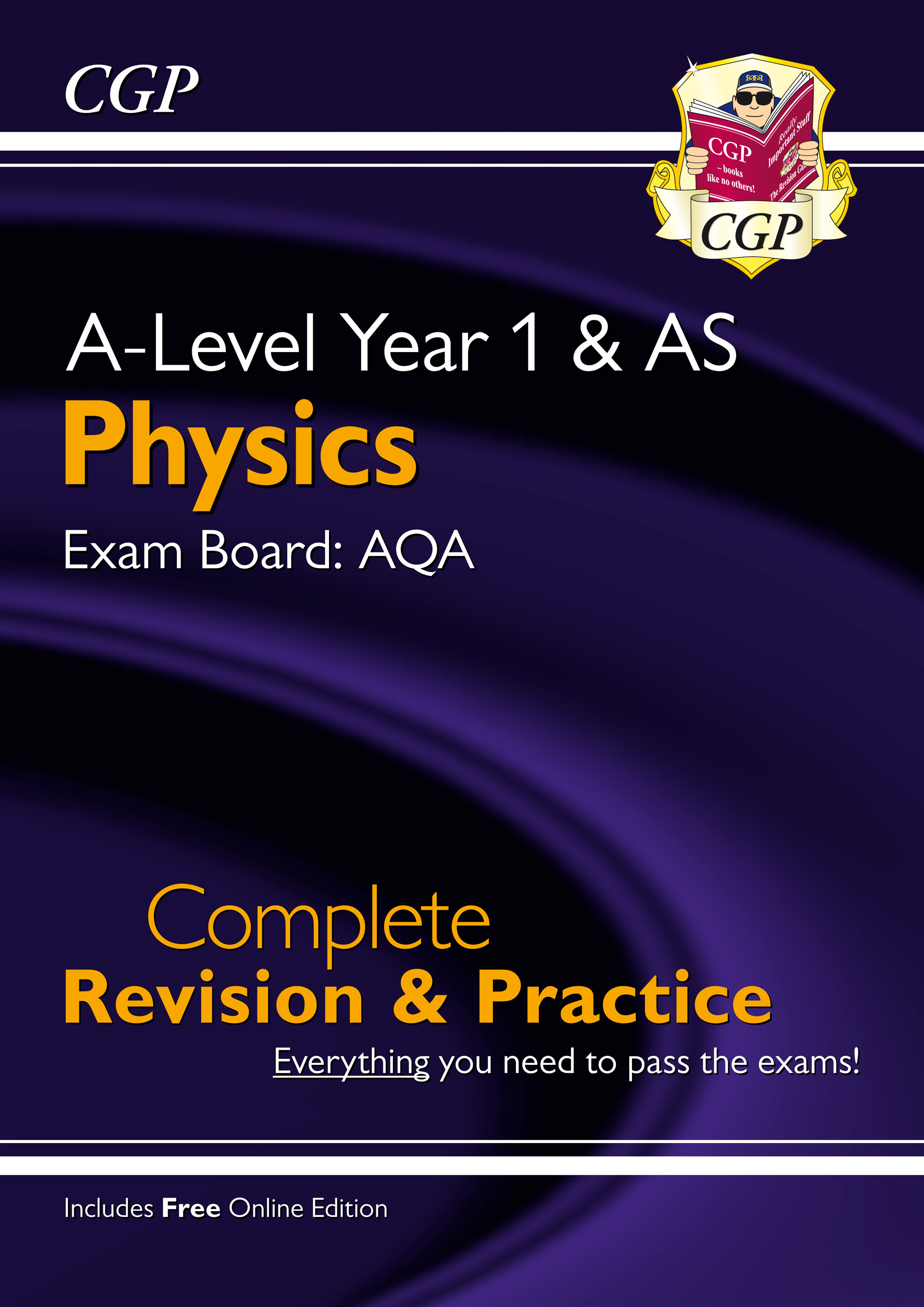 PAR54 - A-Level Physics: AQA Year 1 & AS Complete Revision & Practice with Online Edition