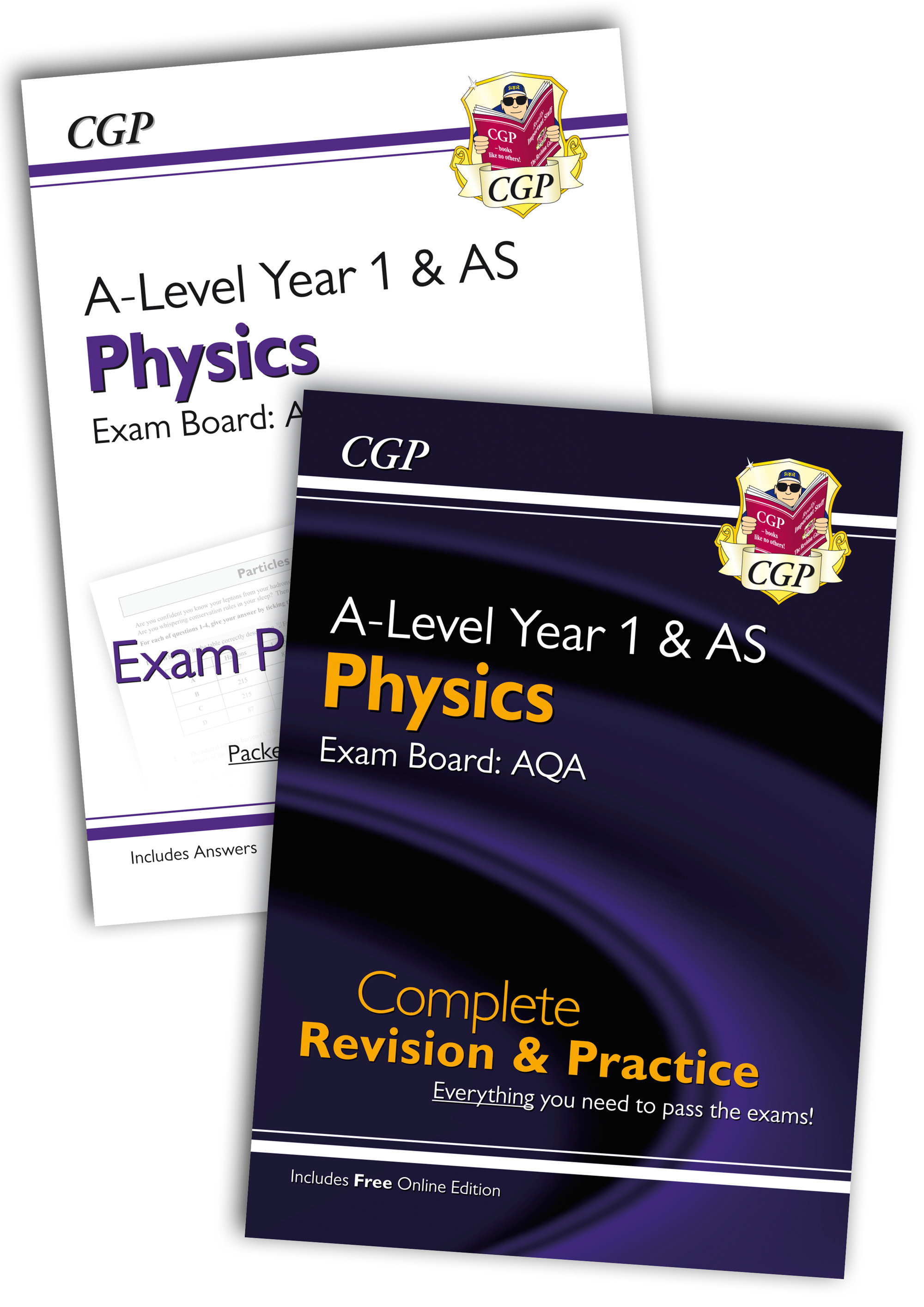 PARQB51 - Complete Revision and Exam Practice A-Level Physics Bundle: AQA Year 1 & AS
