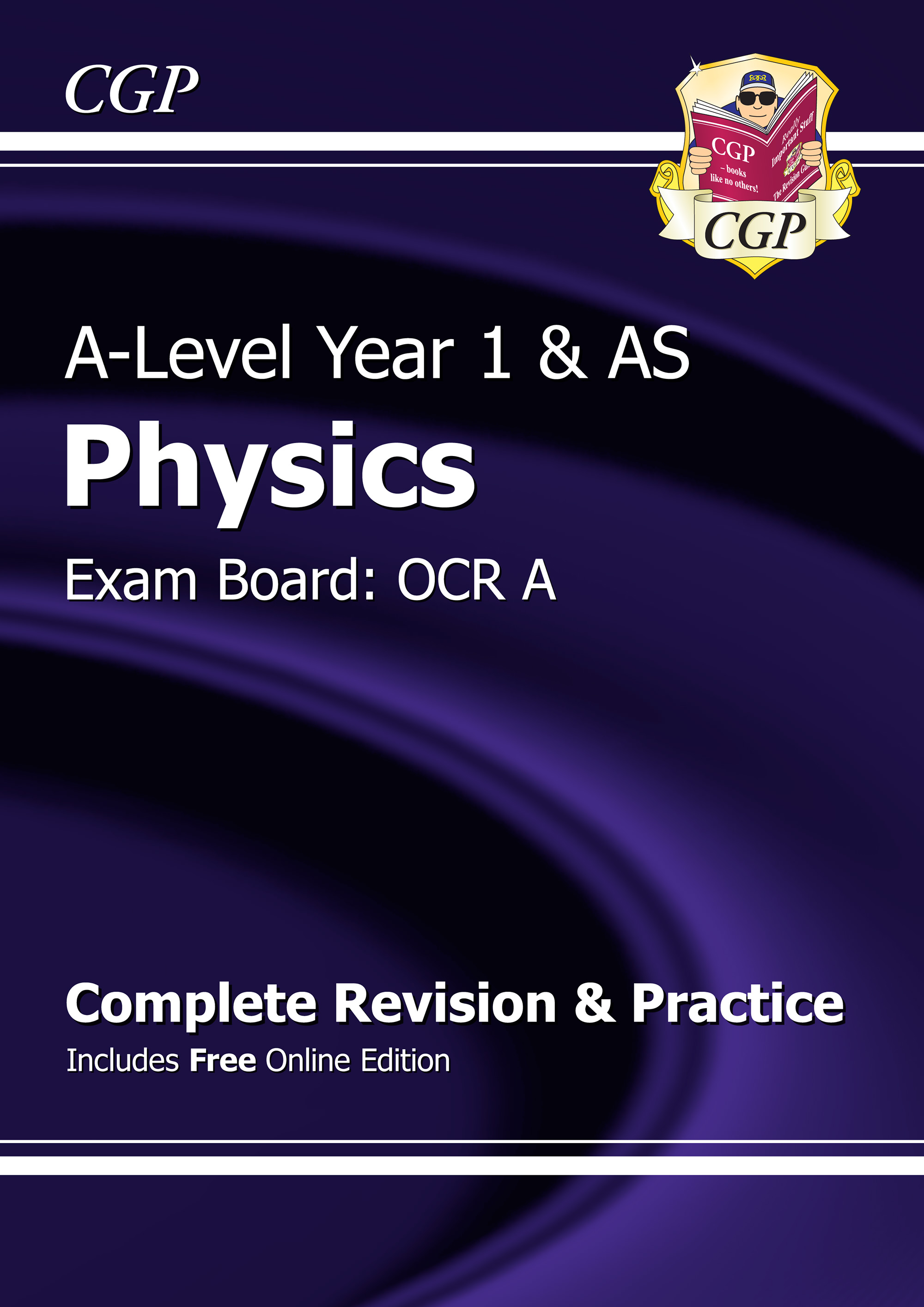 PRAR53 - A-Level Physics: OCR A Year 1 & AS Complete Revision & Practice with Online Edition