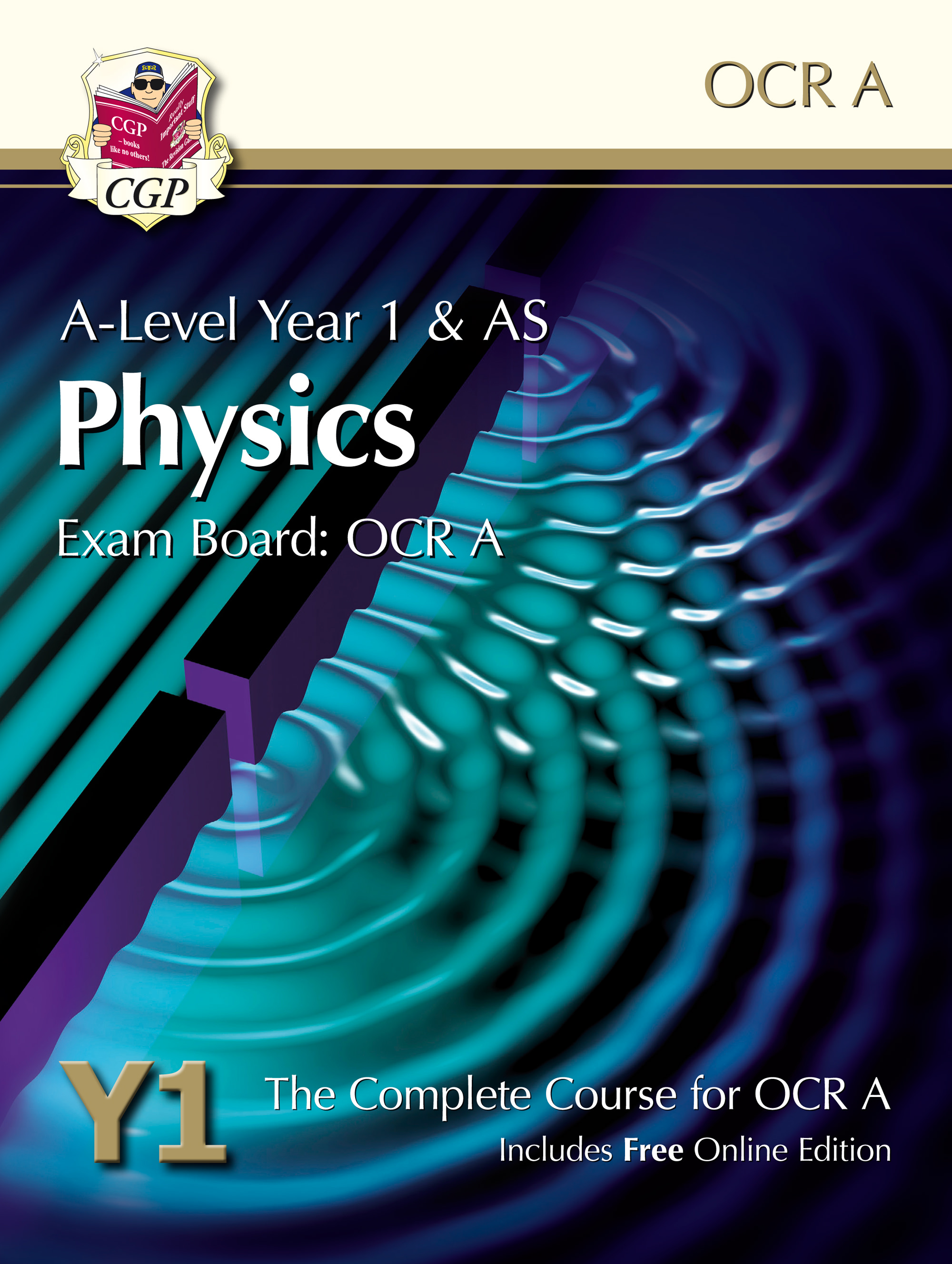 PRATB51 - A-Level Physics for OCR A: Year 1 & AS Student Book with Online Edition