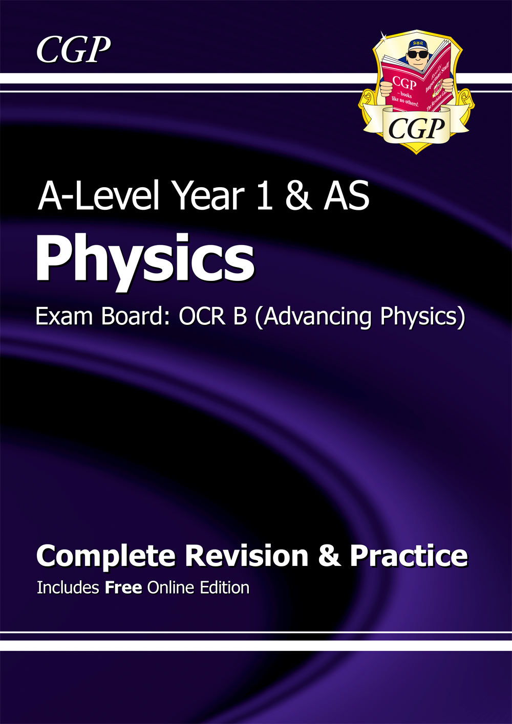 PRBR53 - A-Level Physics: OCR B Year 1 & AS Complete Revision & Practice with Online Edition