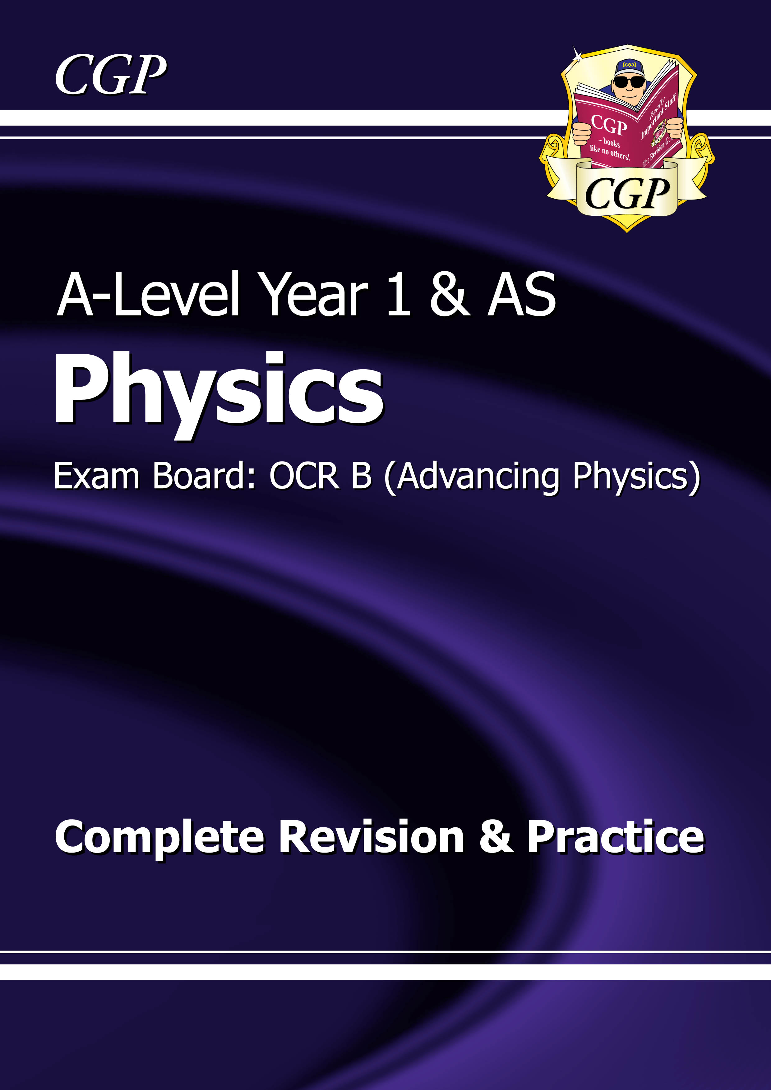PRBR53DK - A-Level Physics: OCR B Year 1 & AS Complete Revision & Practice