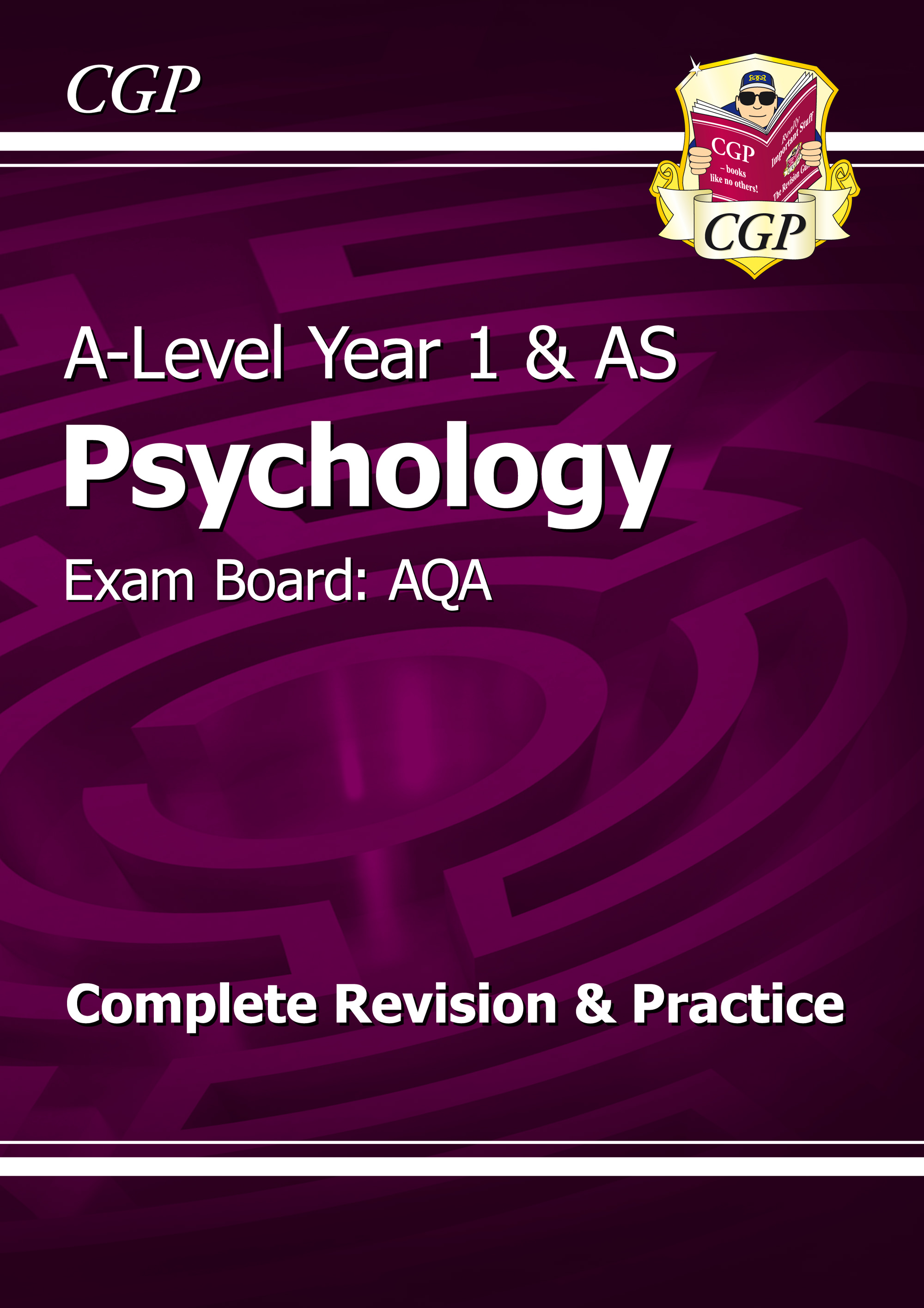 PYAR55 - A-Level Psychology: AQA Year 1 & AS Complete Revision & Practice
