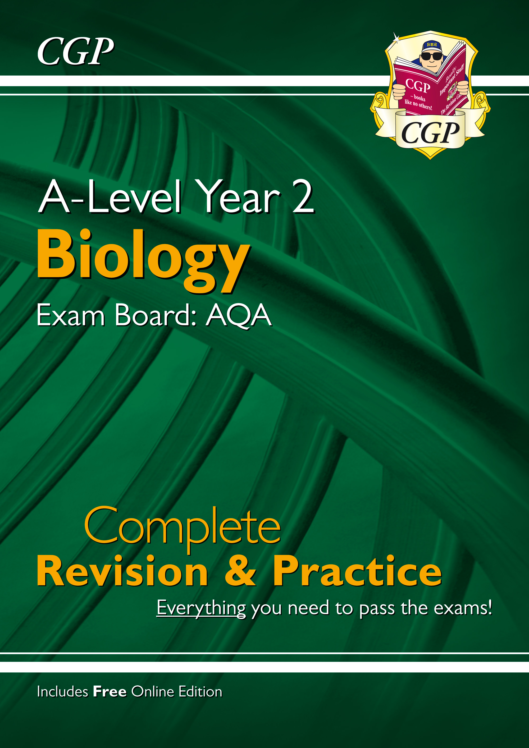 BAR63 - New A-Level Biology: AQA Year 2 Complete Revision & Practice with Online Edition