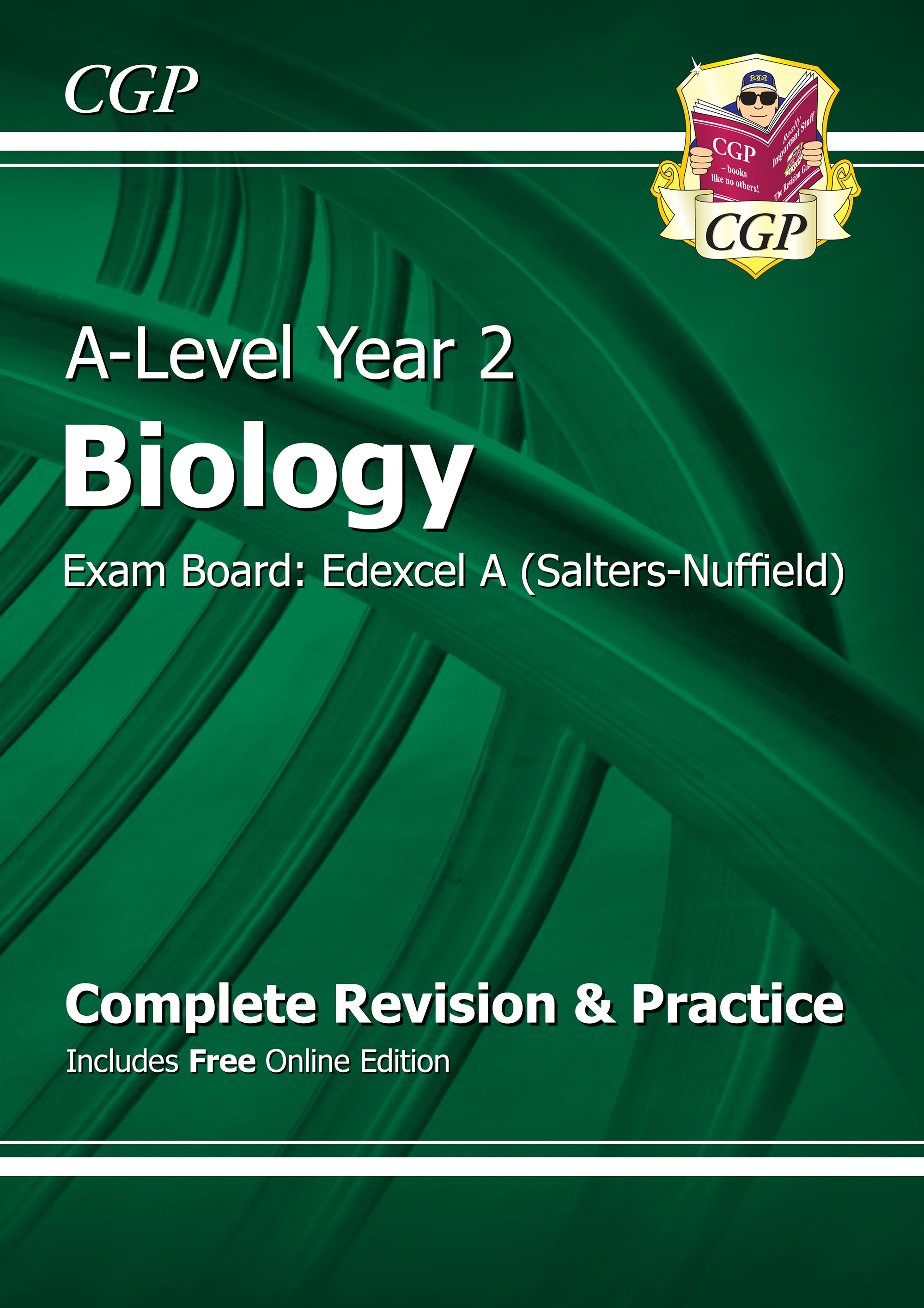BEAR62 - A-Level Biology: Edexcel A Year 2 Complete Revision & Practice with Online Edition