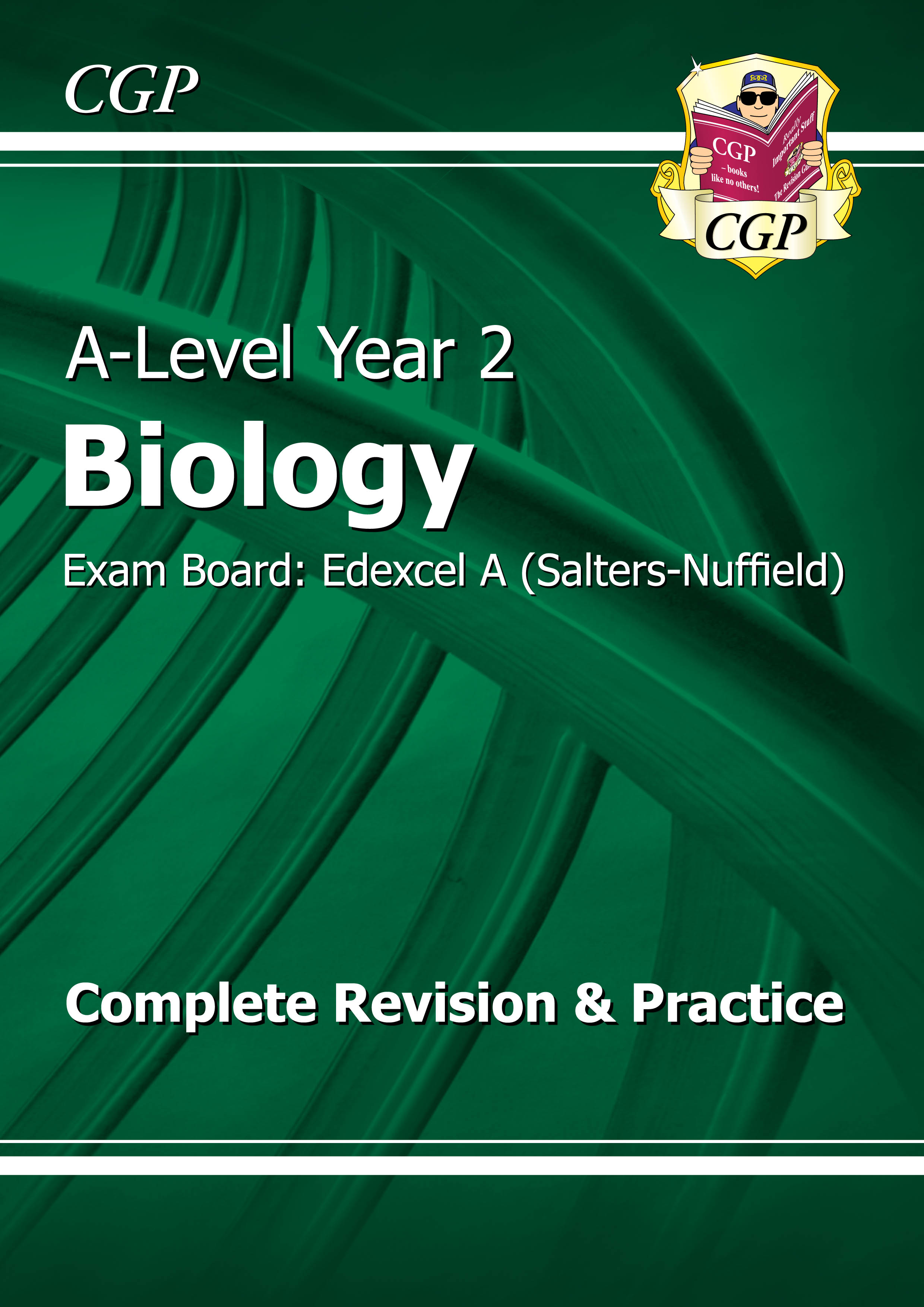 BEAR62DK - A-Level Biology: Edexcel A Year 2 Complete Revision & Practice