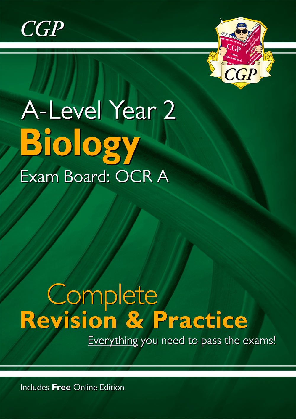 BRAR63 - New A-Level Biology: OCR A Year 2 Complete Revision & Practice with Online Edition