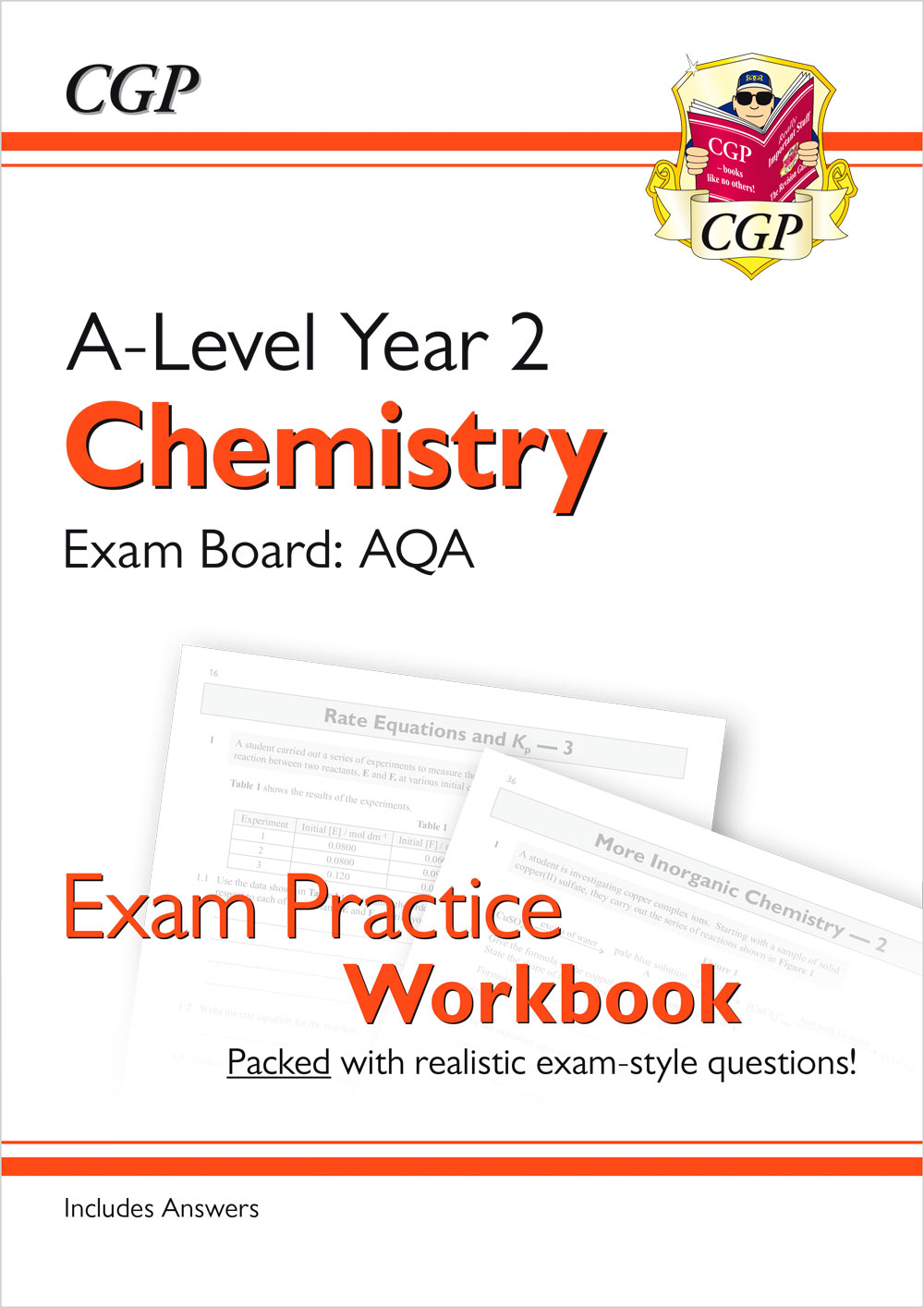 CAQ61 - New A-Level Chemistry for 2018: AQA Year 2 Exam Practice Workbook - includes Answers