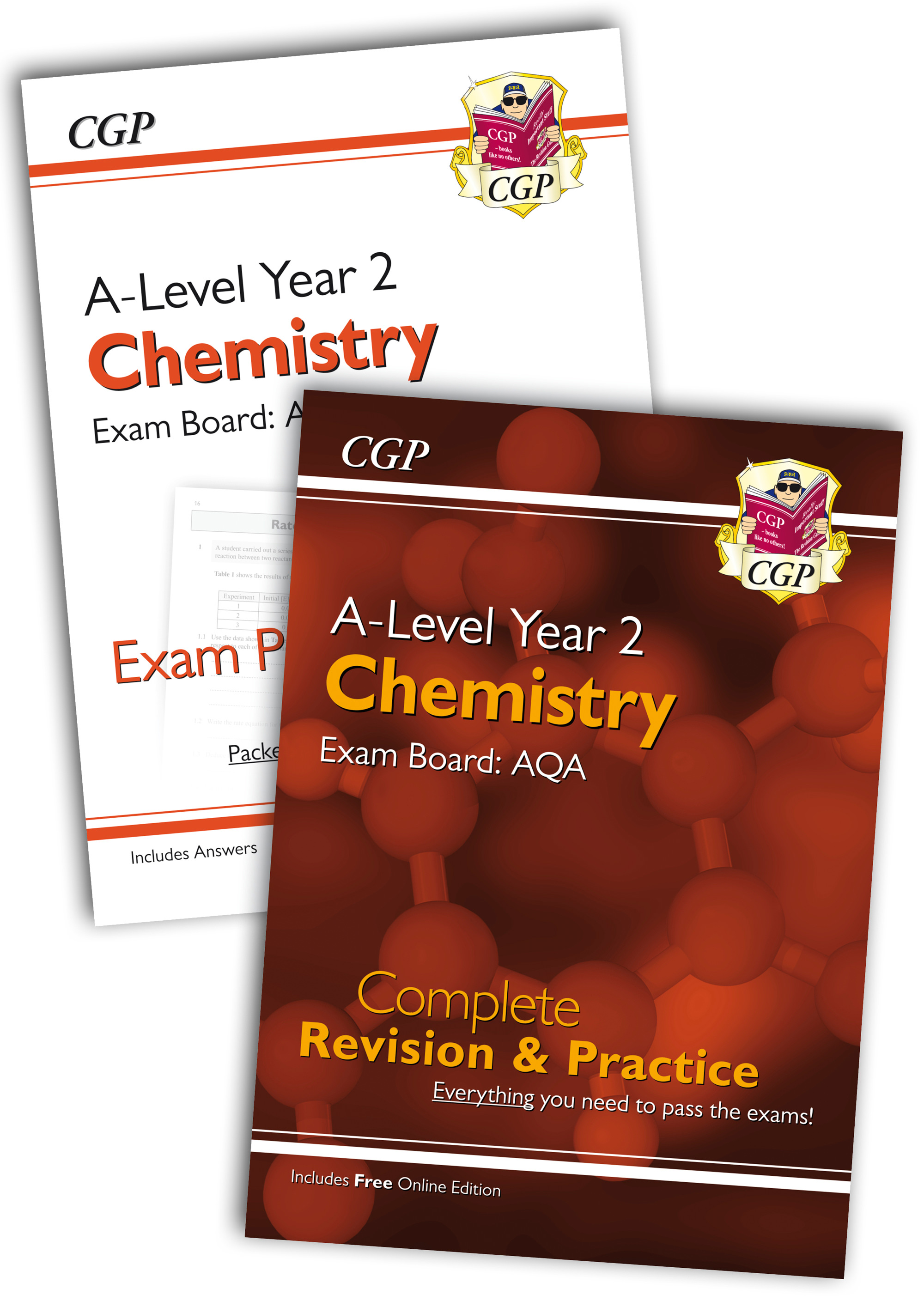 CARQB61 - New 2018 Complete Revision and Exam Practice A-Level Chemistry Bundle: AQA Year 2