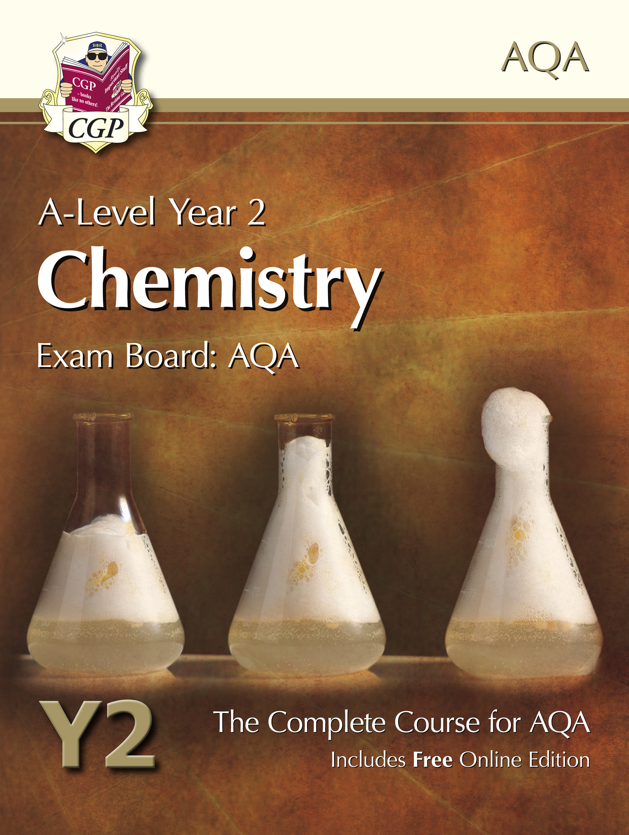 CATB62 - A-Level Chemistry for AQA: Year 2 Student Book with Online Edition