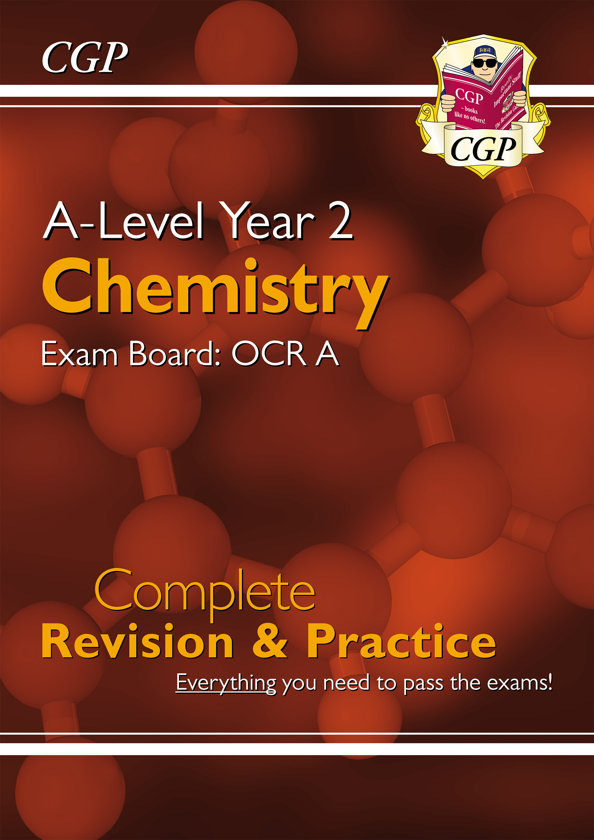 CRAR63DK - New A-Level Chemistry: OCR A Year 2 Complete Revision & Practice
