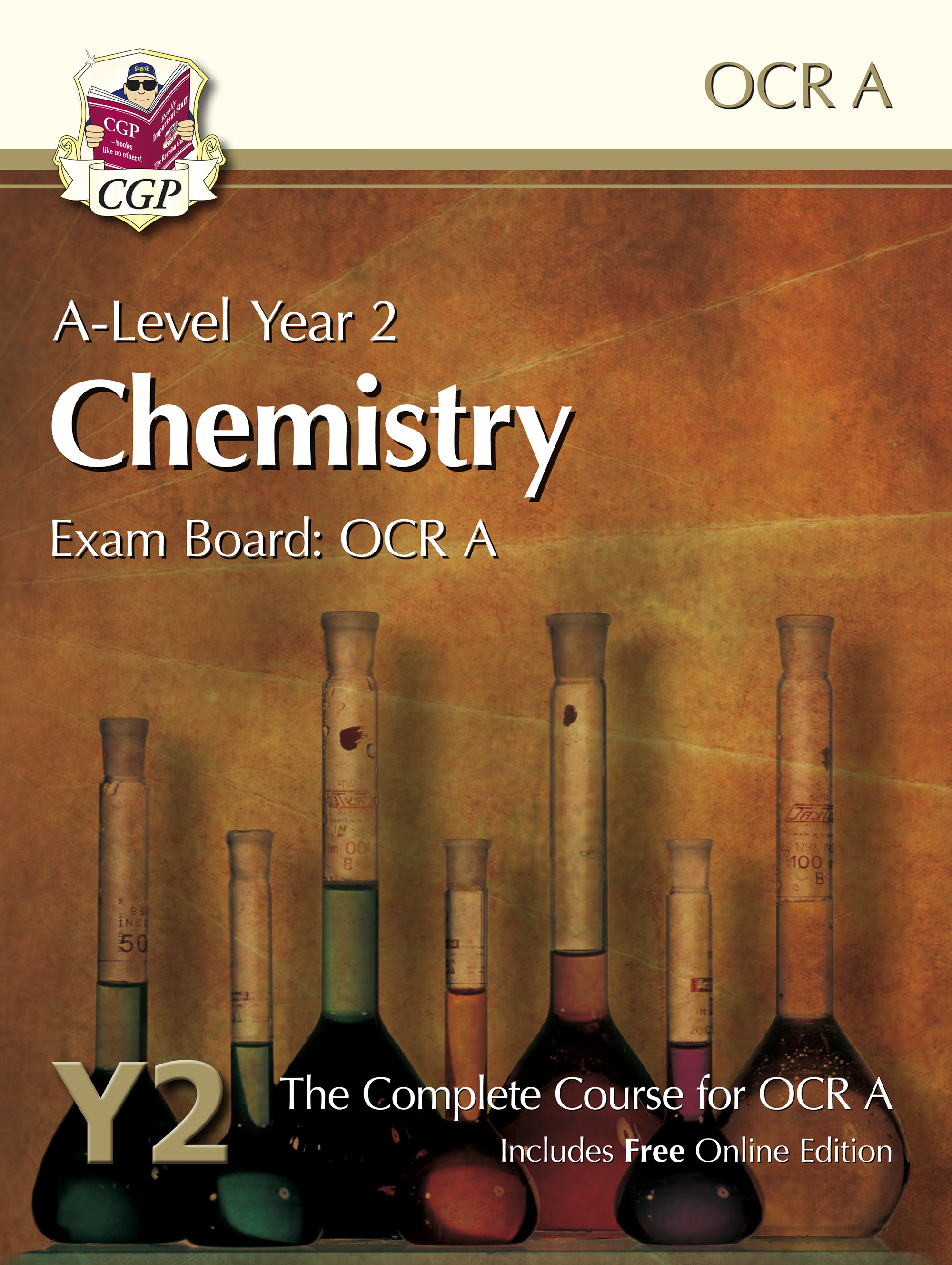 CRATB62 - A-Level Chemistry for OCR A: Year 2 Student Book with Online Edition