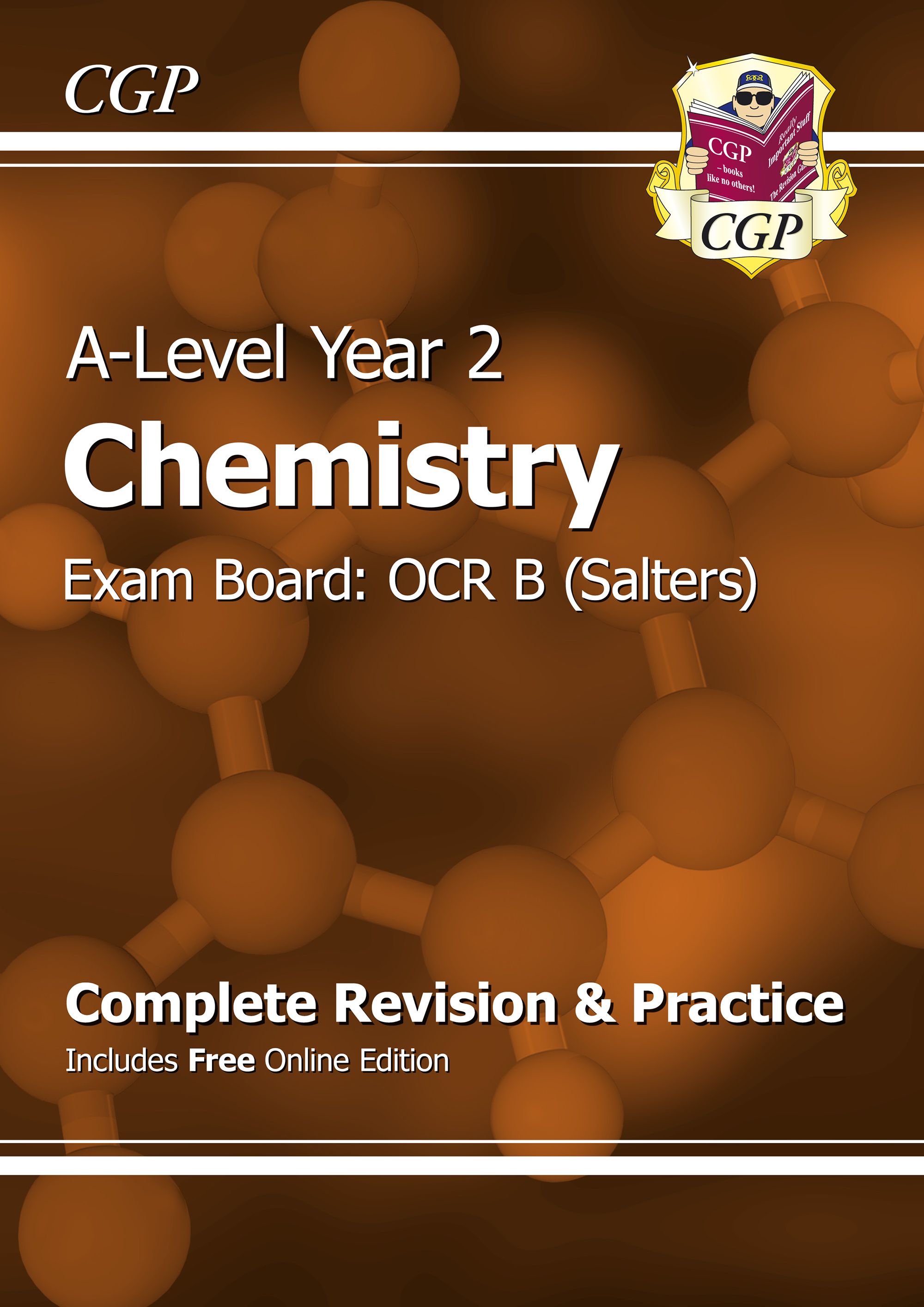 CRBR62 - A-Level Chemistry: OCR B Year 2 Complete Revision & Practice with Online Edition