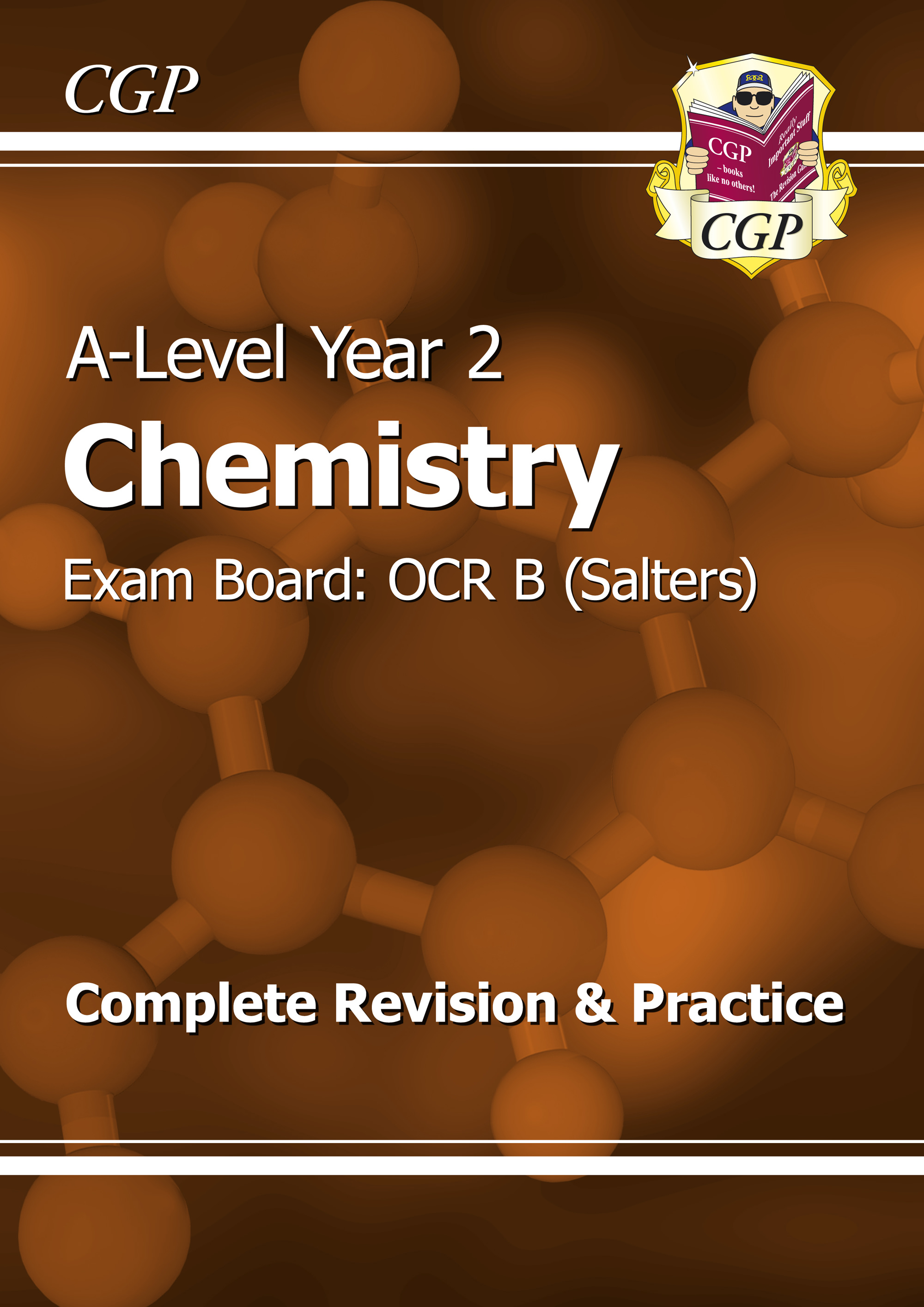 CRBR62DK - A-Level Chemistry: OCR B Year 2 Complete Revision & Practice
