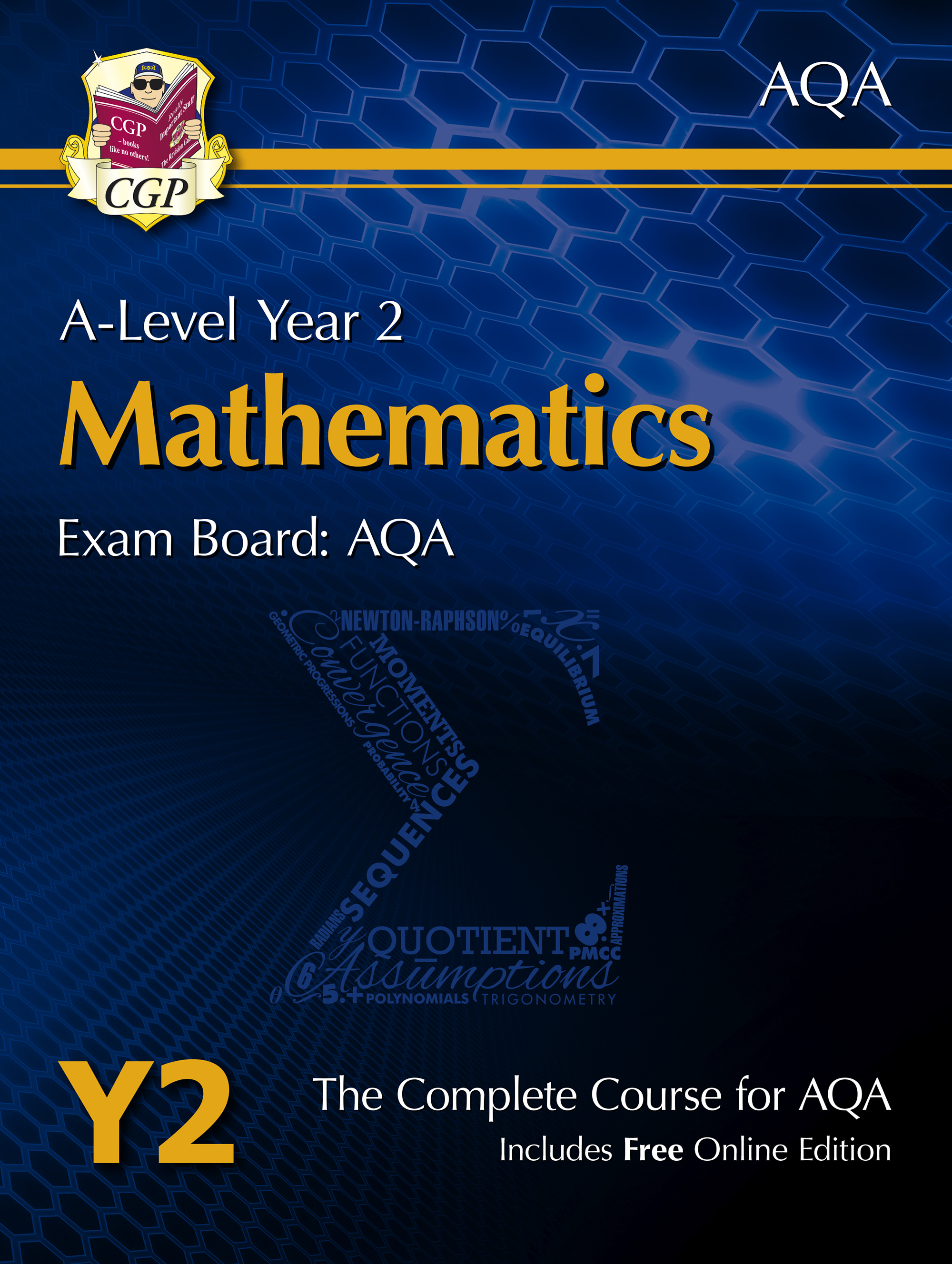 MAT61 - New A-Level Maths for AQA: Year 2 Student Book with Online Edition