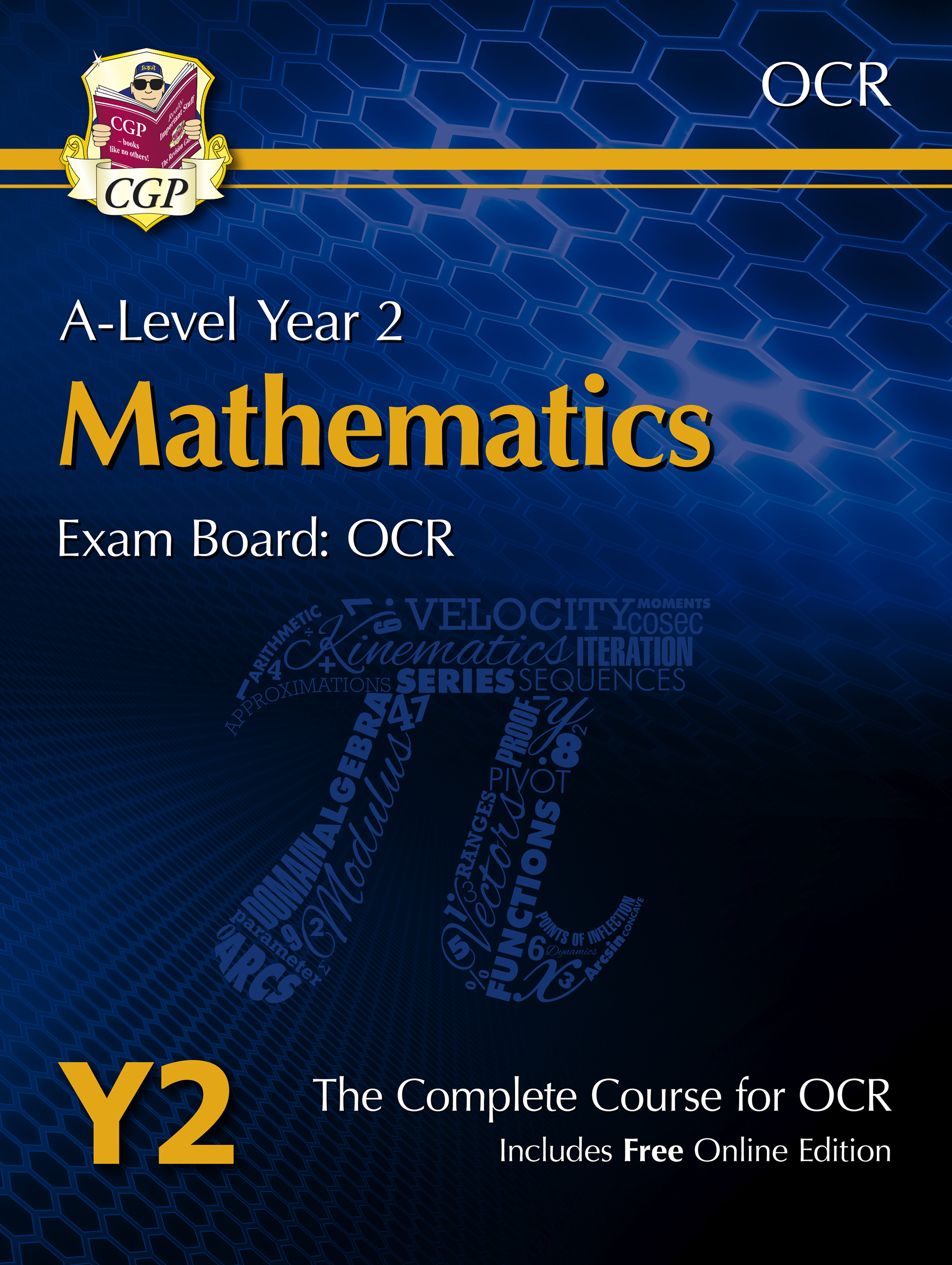 MRT61 - A-Level Maths for OCR: Year 2 Student Book with Online Edition