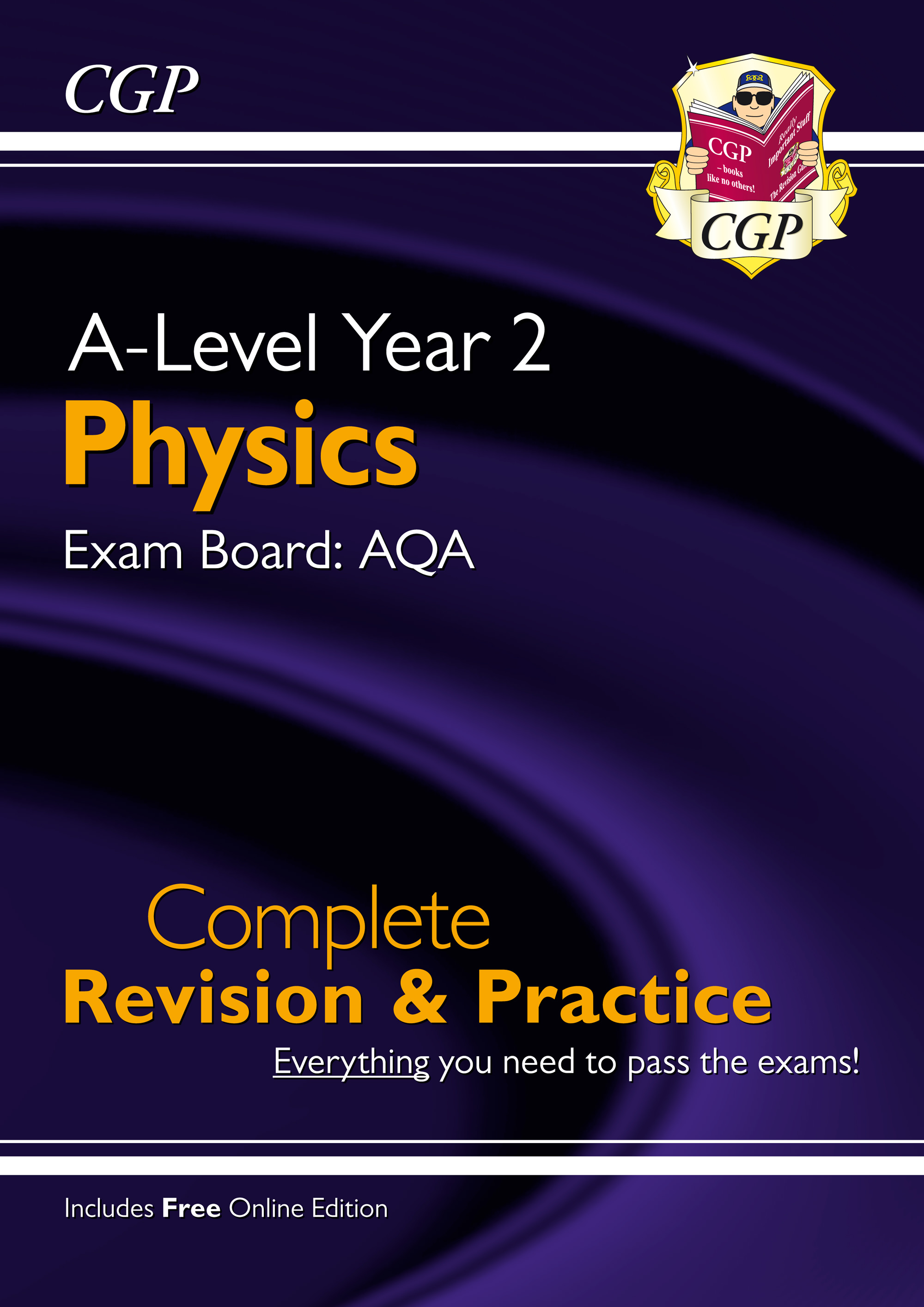 PAR63 - New A-Level Physics: AQA Year 2 Complete Revision & Practice with Online Edition