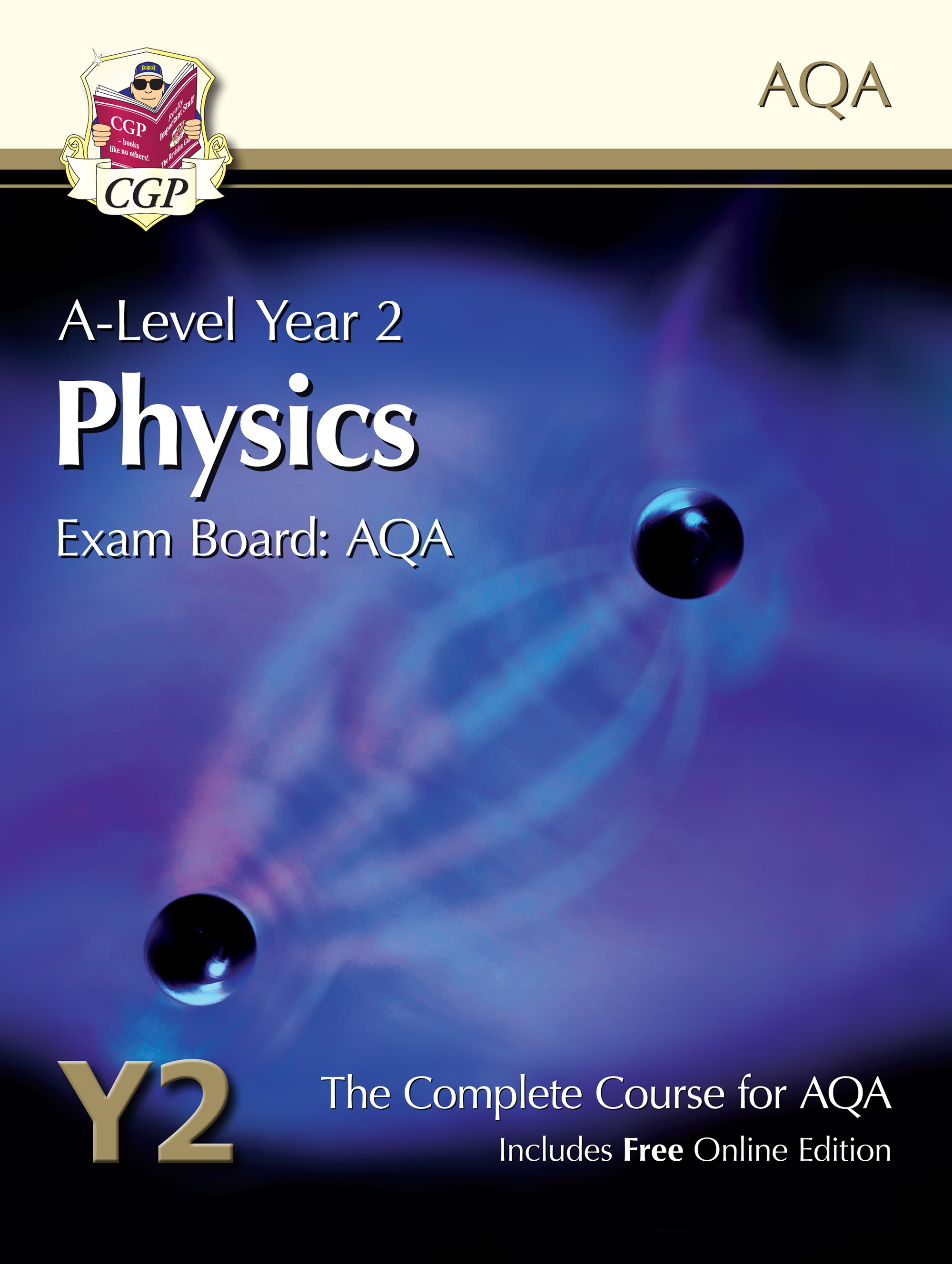 PATB62 - A-Level Physics for AQA: Year 2 Student Book with Online Edition