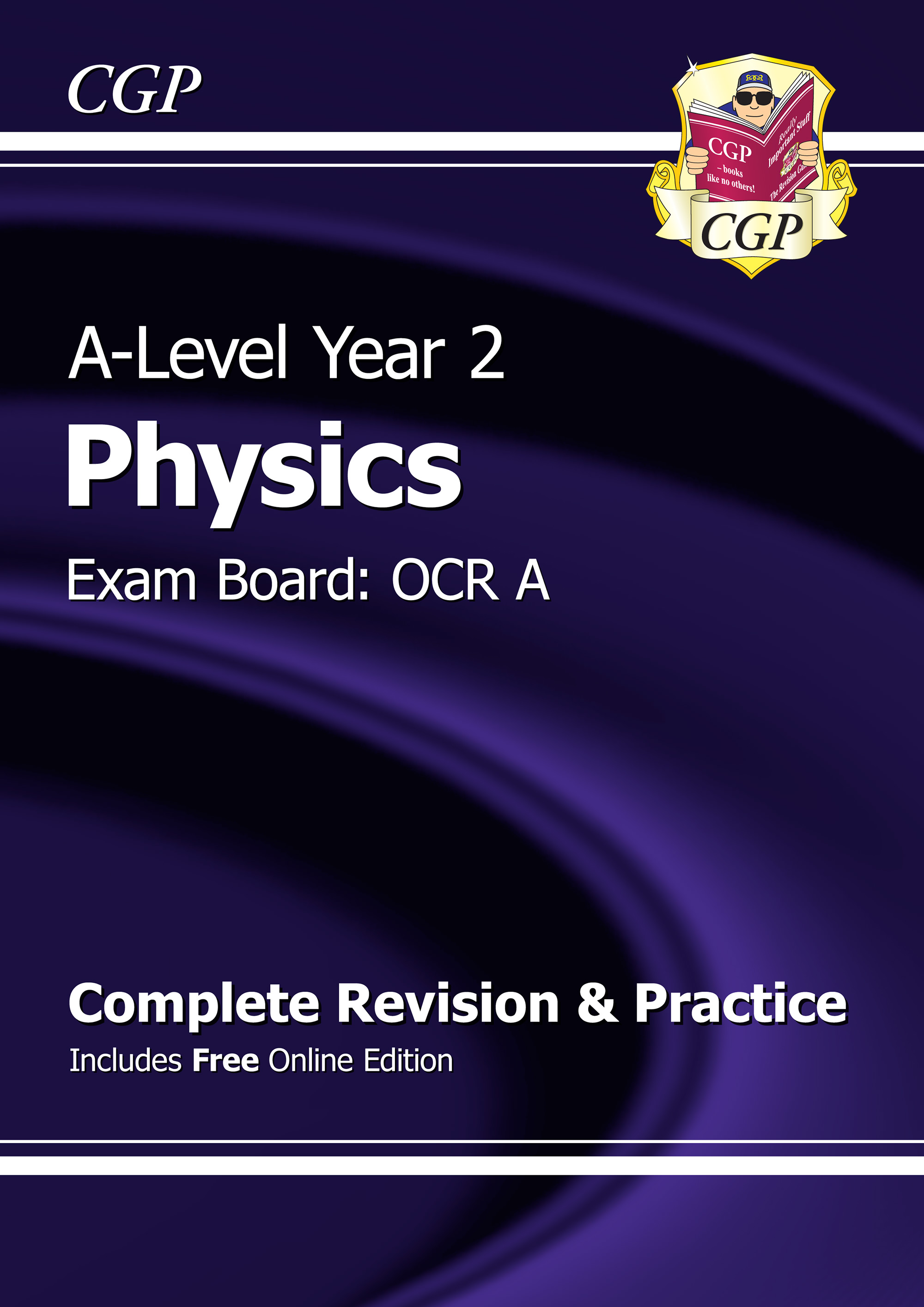 PRAR62 - A-Level Physics: OCR A Year 2 Complete Revision & Practice with Online Edition