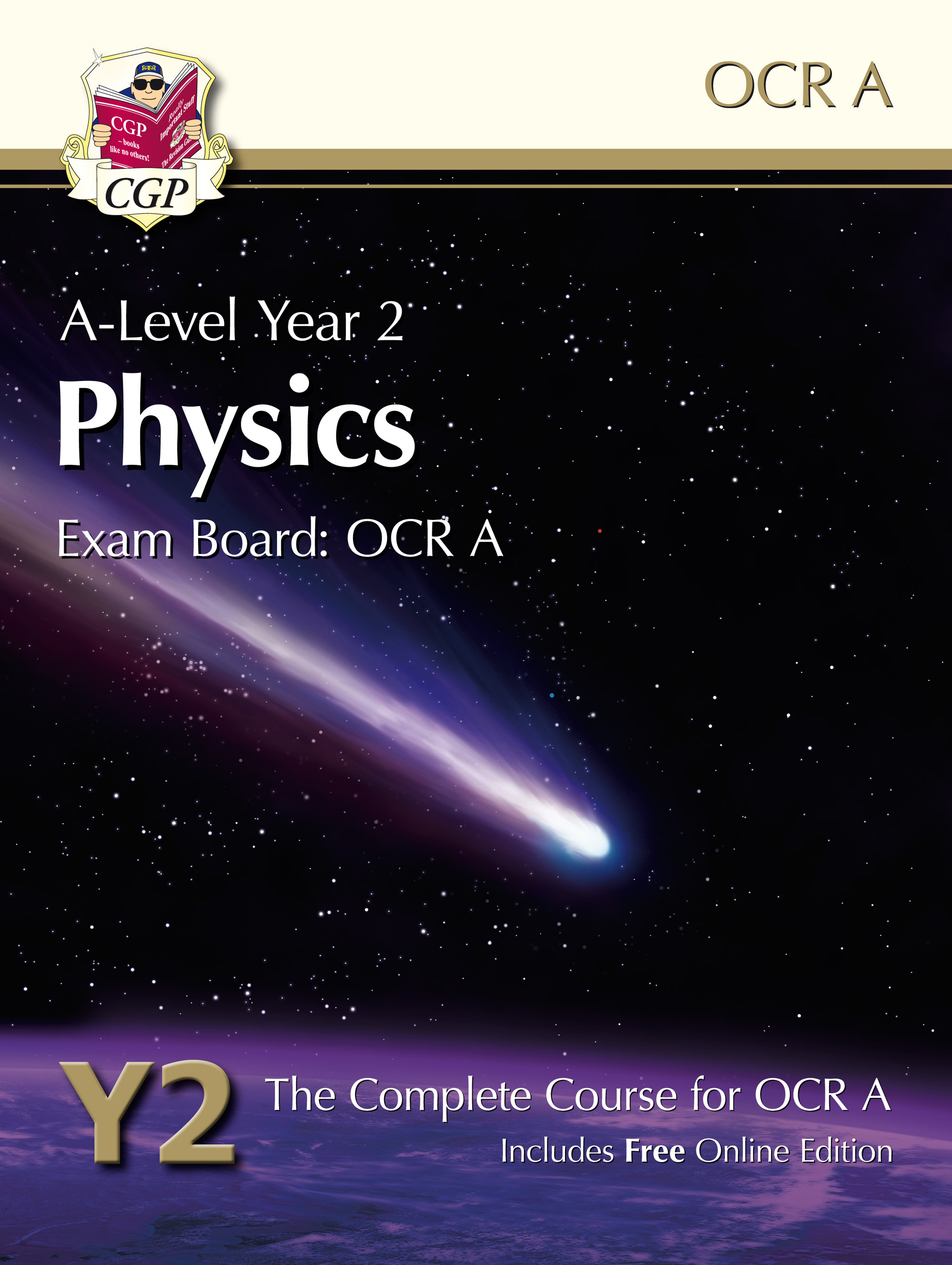 PRATB61 - A-Level Physics for OCR A: Year 2 Student Book with Online Edition