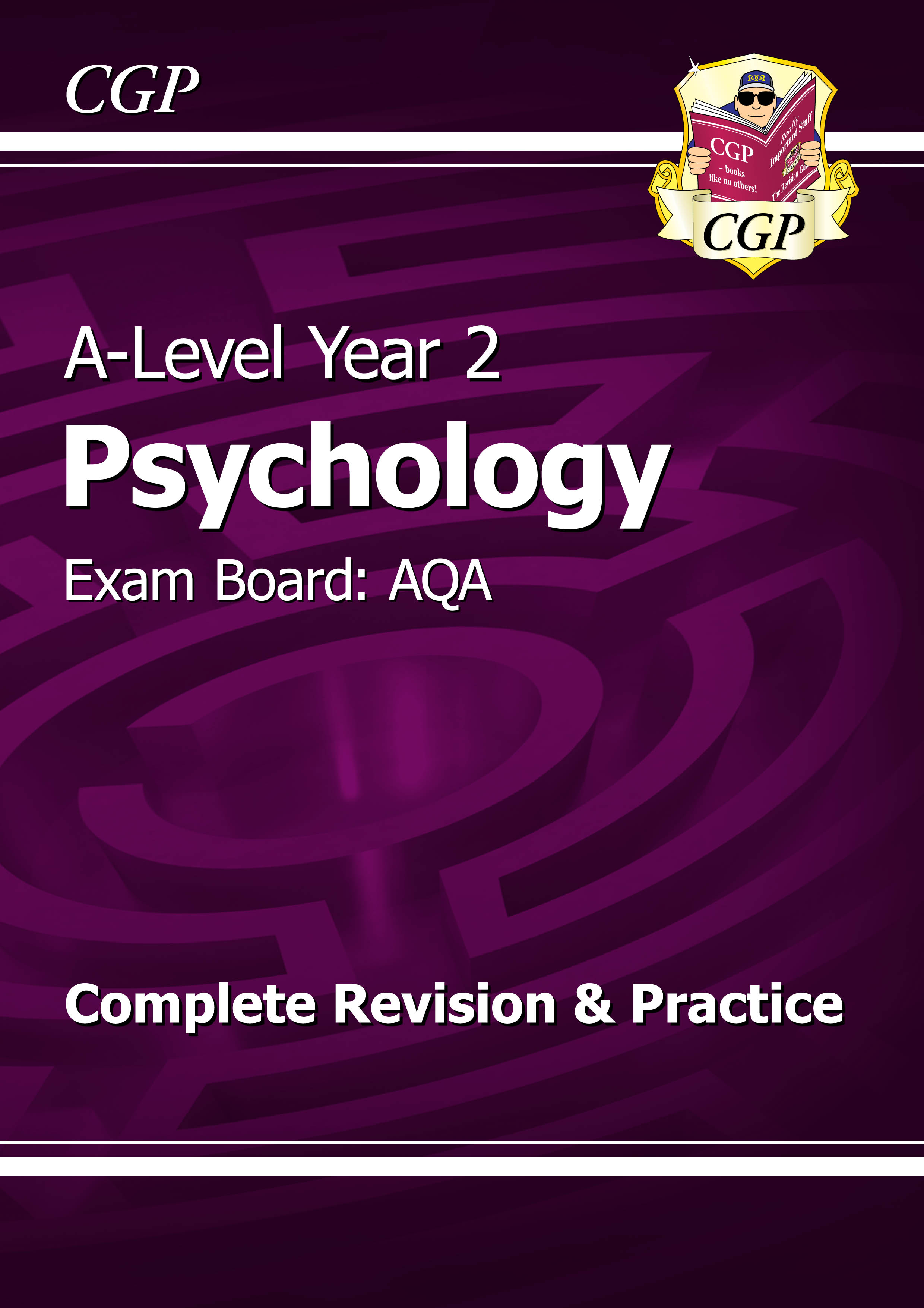 PYAR63DK - A-Level Psychology: AQA Year 2 Complete Revision & Practice