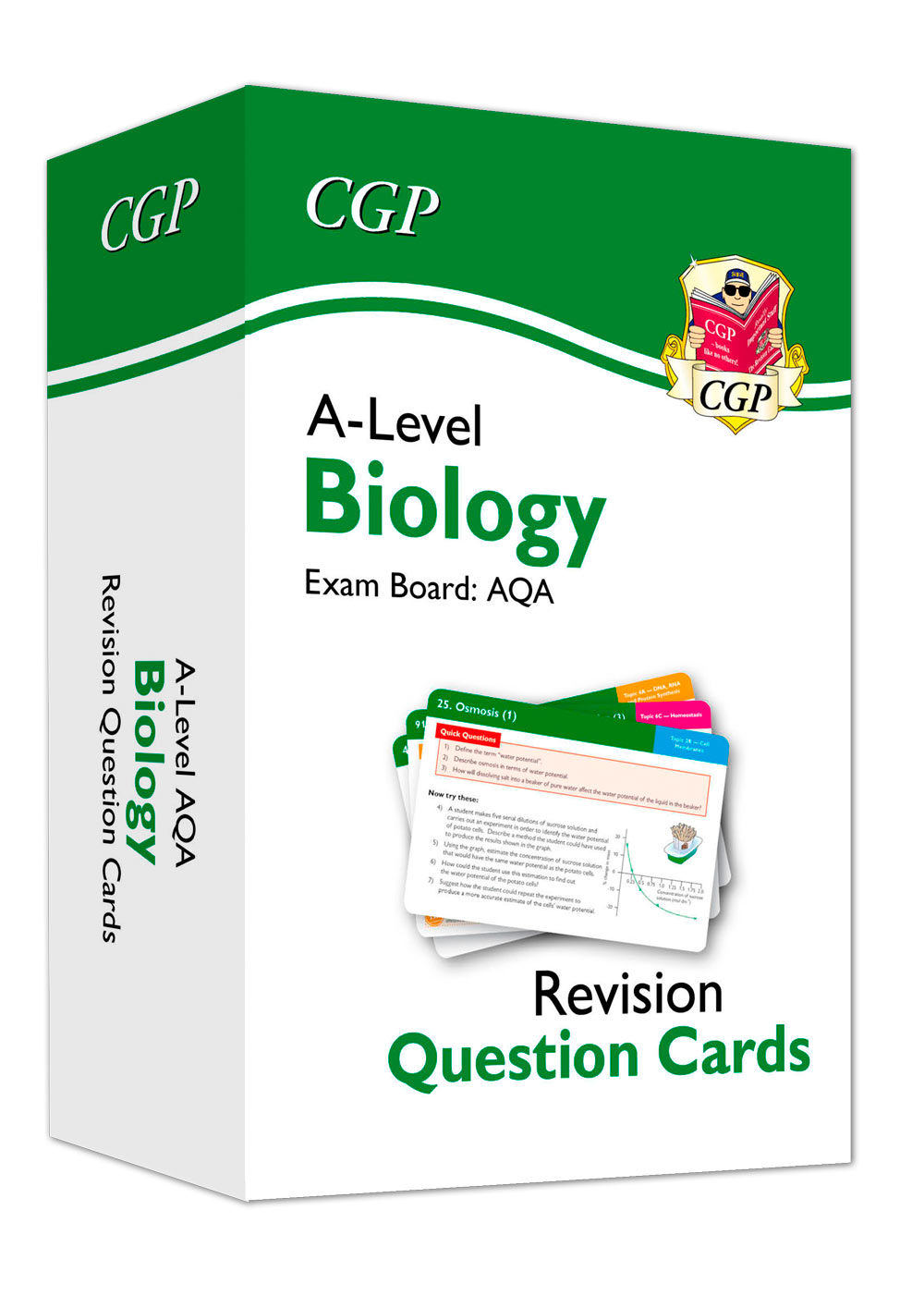 BAF71 - New A-Level Biology AQA Revision Question Cards