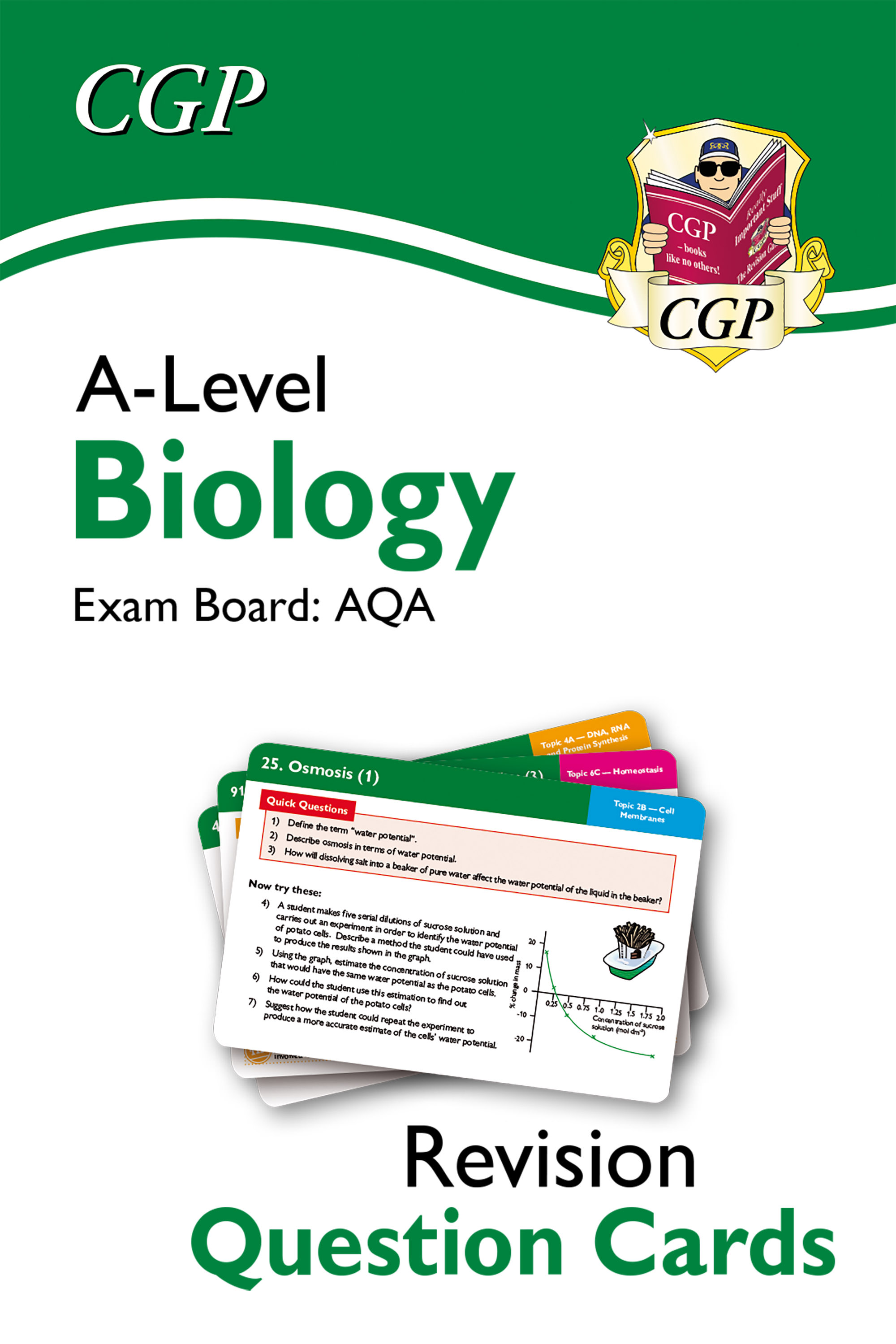 BAF71D - New A-Level Biology AQA Revision Question Cards Online Edition