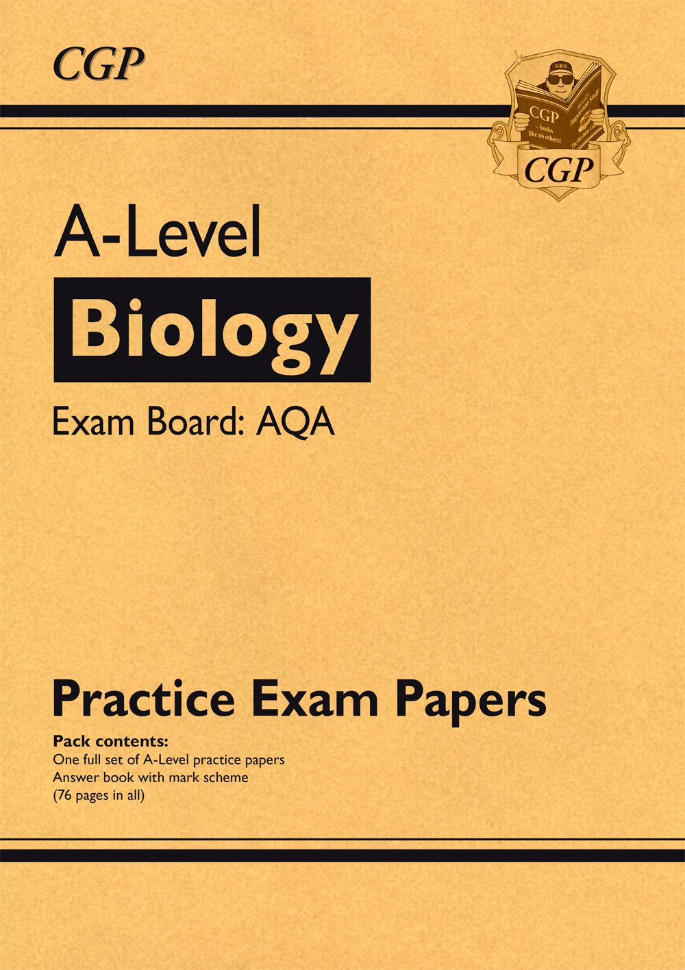 BAP71 - New A-Level Biology AQA Practice Papers (for the exams in 2021)