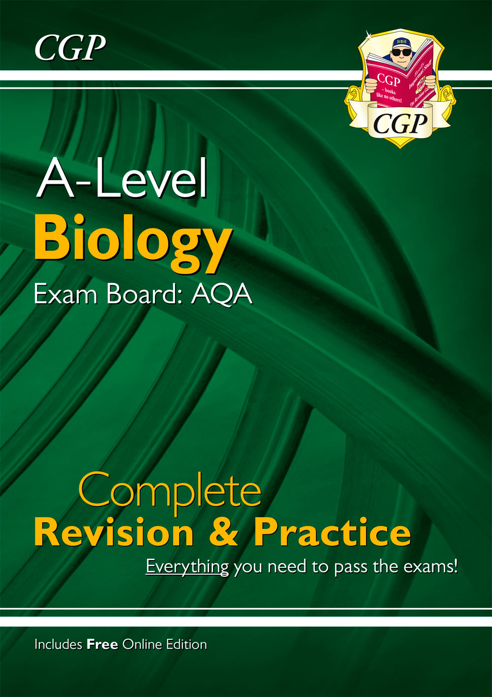 BAR73 - New A-Level Biology: AQA Year 1 & 2 Complete Revision & Practice with Online Edition