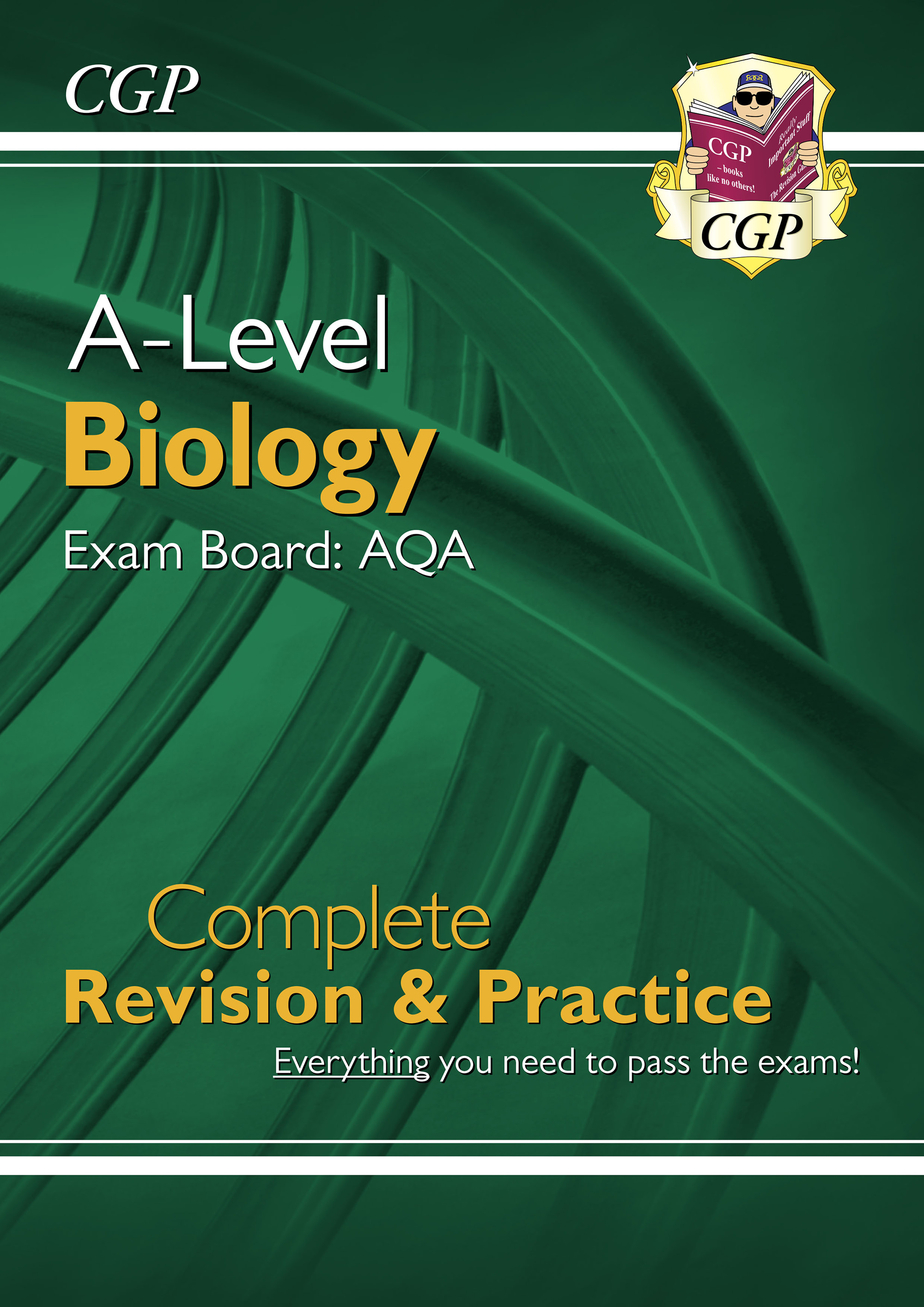 BAR73DK - New A-Level Biology: AQA Year 1 & 2 Complete Revision & Practice