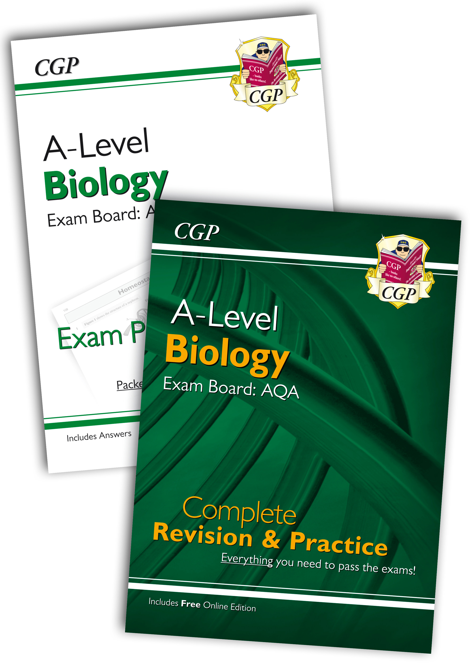 BARQB71 - New 2018 Complete Revision and Exam Practice A-Level Biology Bundle: AQA Year 1 & 2