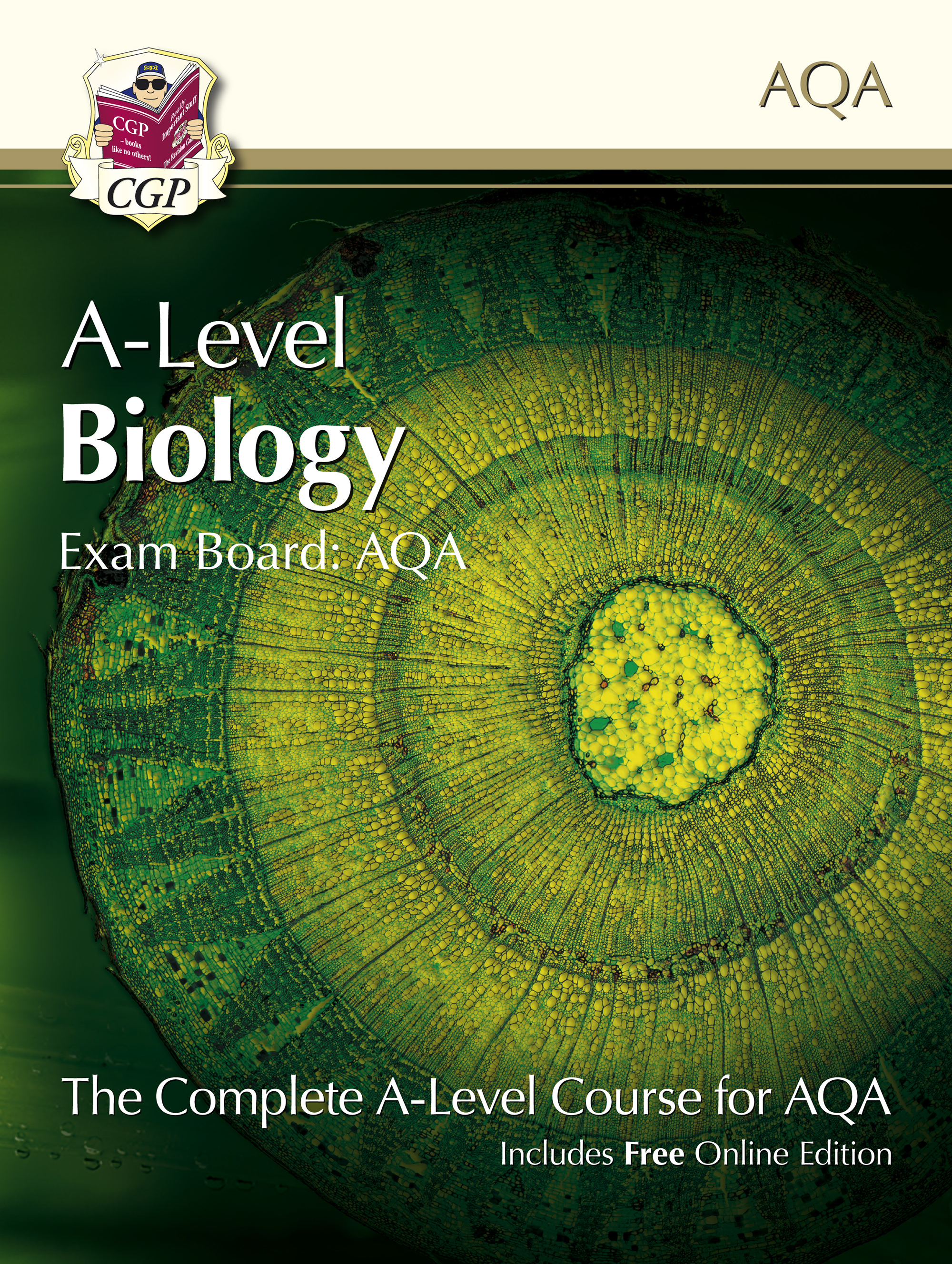 BATB71 - A-Level Biology for AQA: Year 1 & 2 Student Book with Online Edition