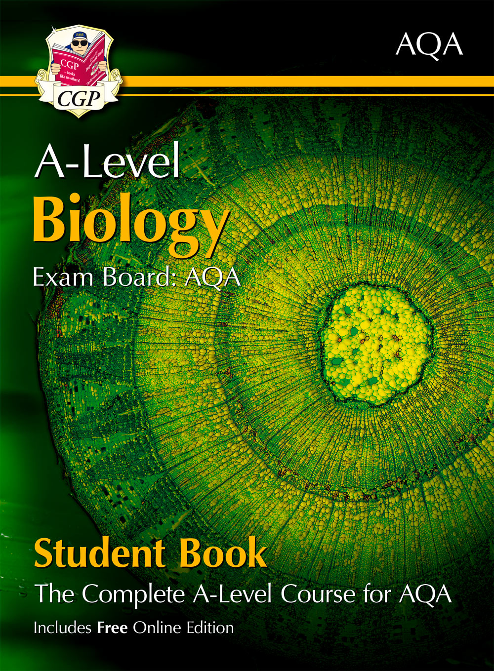 BATB72 - A-Level Biology for AQA: Year 1 & 2 Student Book with Online Edition