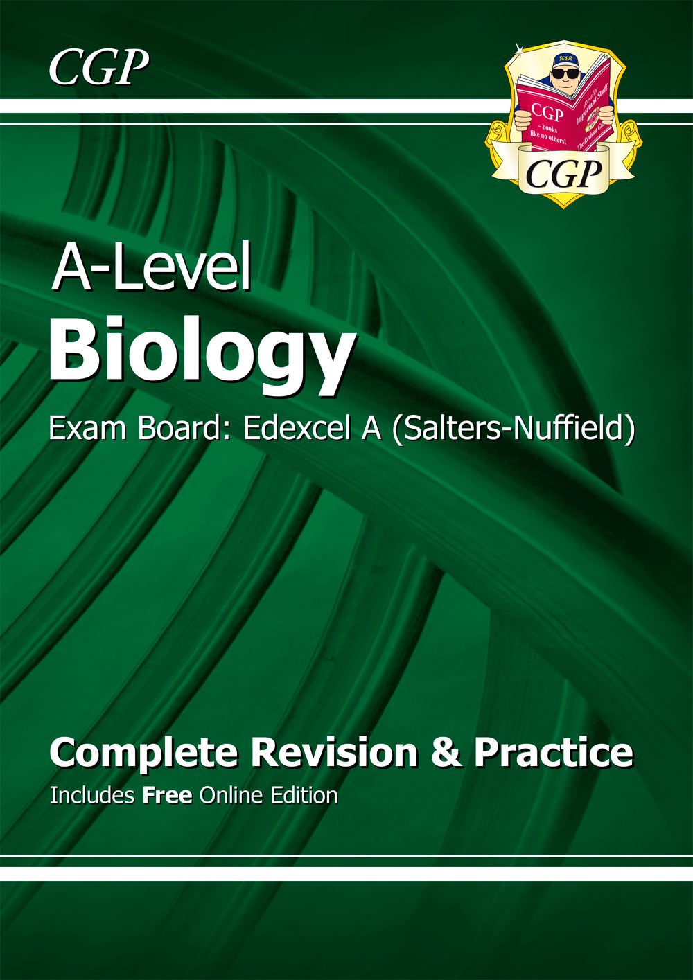 BEAR72 - A-Level Biology: Edexcel A Year 1 & 2 Complete Revision & Practice with Online Edition