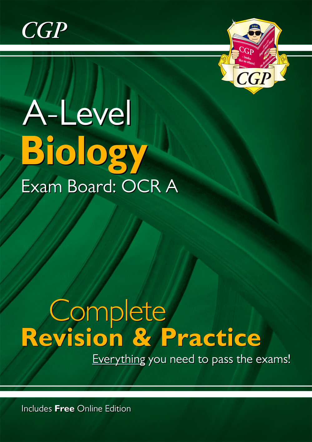 BRAR73 - New A-Level Biology for 2018: OCR A Year 1 & 2 Complete Revision & Practice with Online Edi