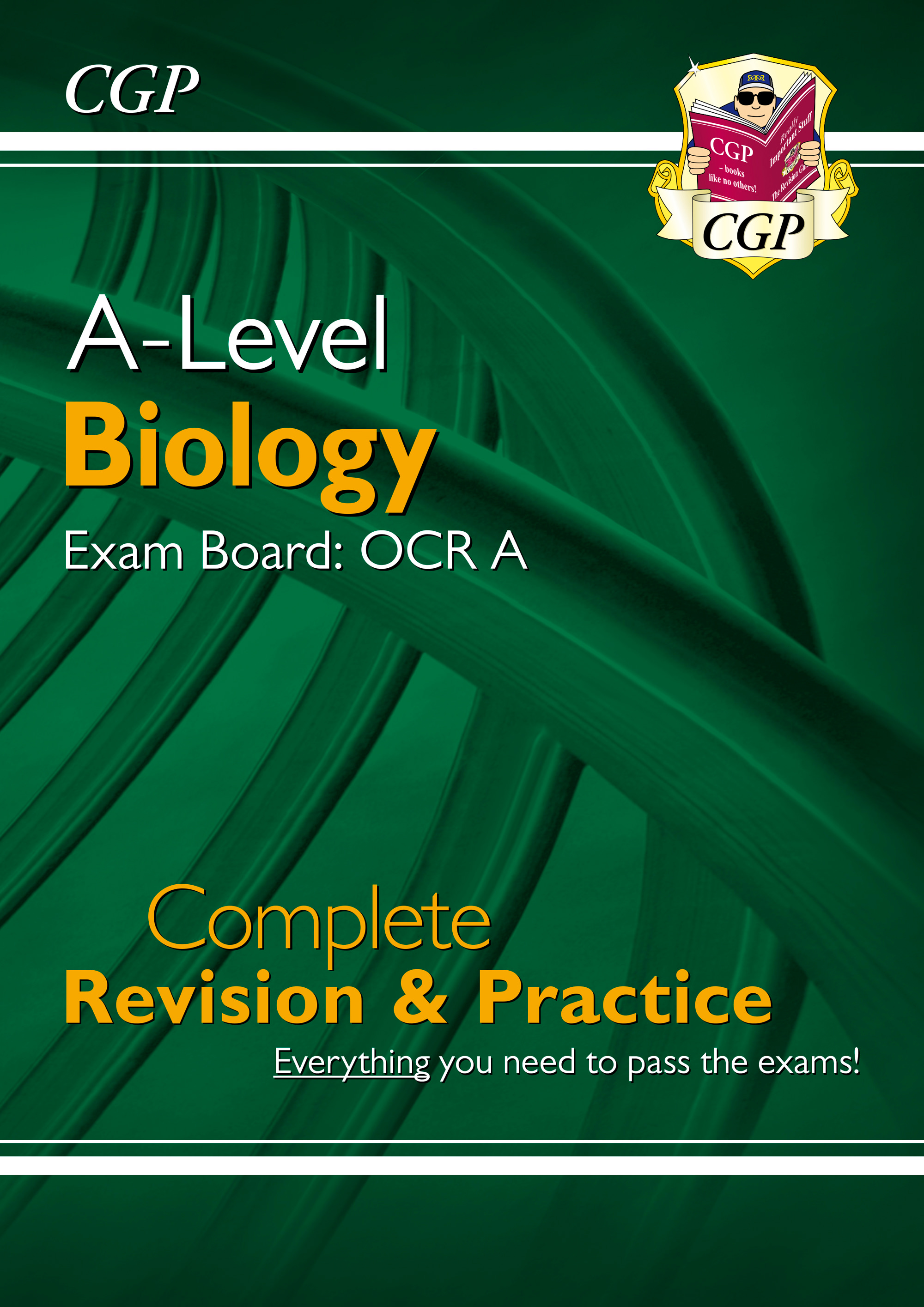 BRAR73DK - New A-Level Biology: OCR A Year 1 & 2 Complete Revision & Practice