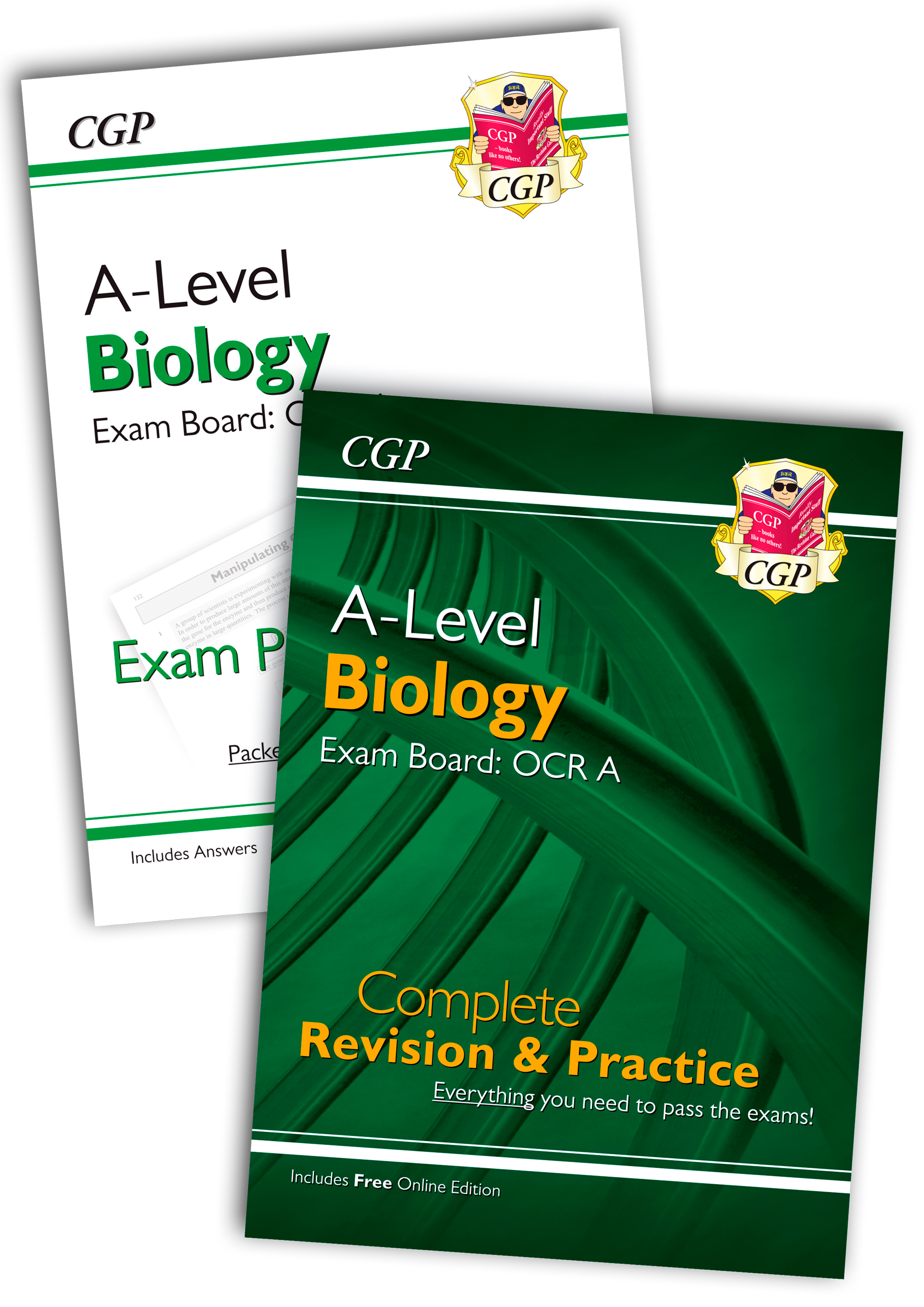 BRARQB71 - New Complete Revision and Exam Practice A-Level Biology Bundle: OCR A Year 1 & 2