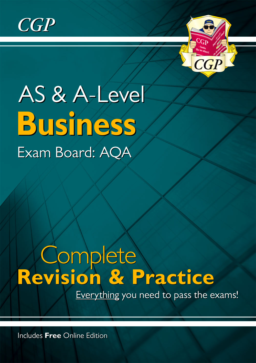 BUAR73 - AS and A-Level Business: AQA Complete Revision & Practice (with Online Edition)