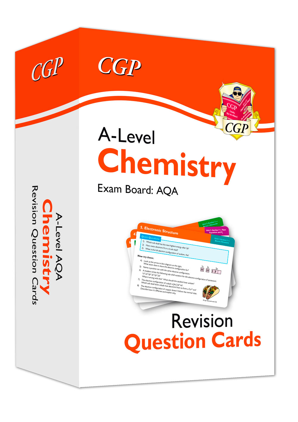 CAF71 - New A-Level Chemistry AQA Revision Question Cards