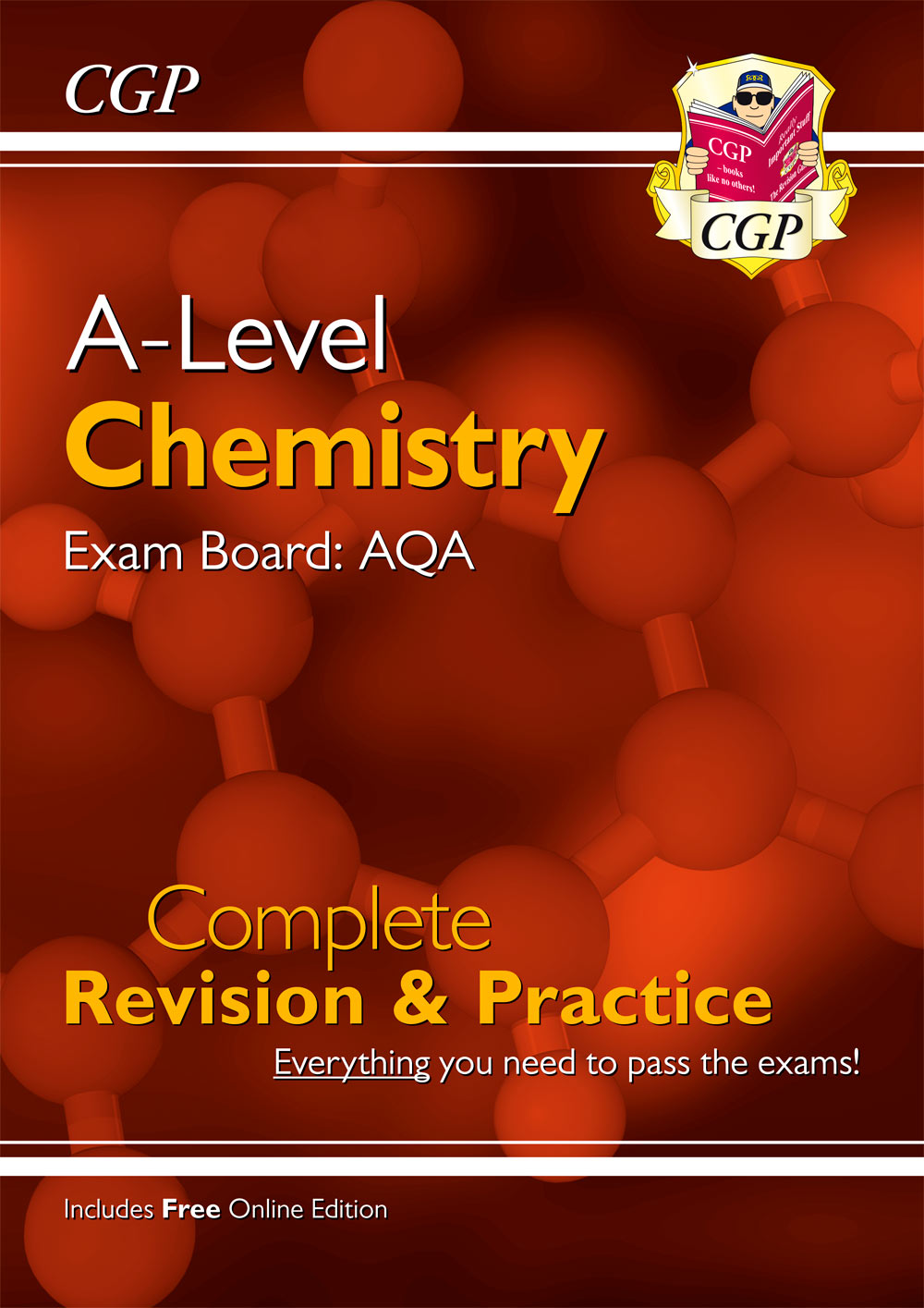 CAR73 - New A-Level Chemistry for 2018: AQA Year 1 & 2 Complete Revision & Practice with Online Edit