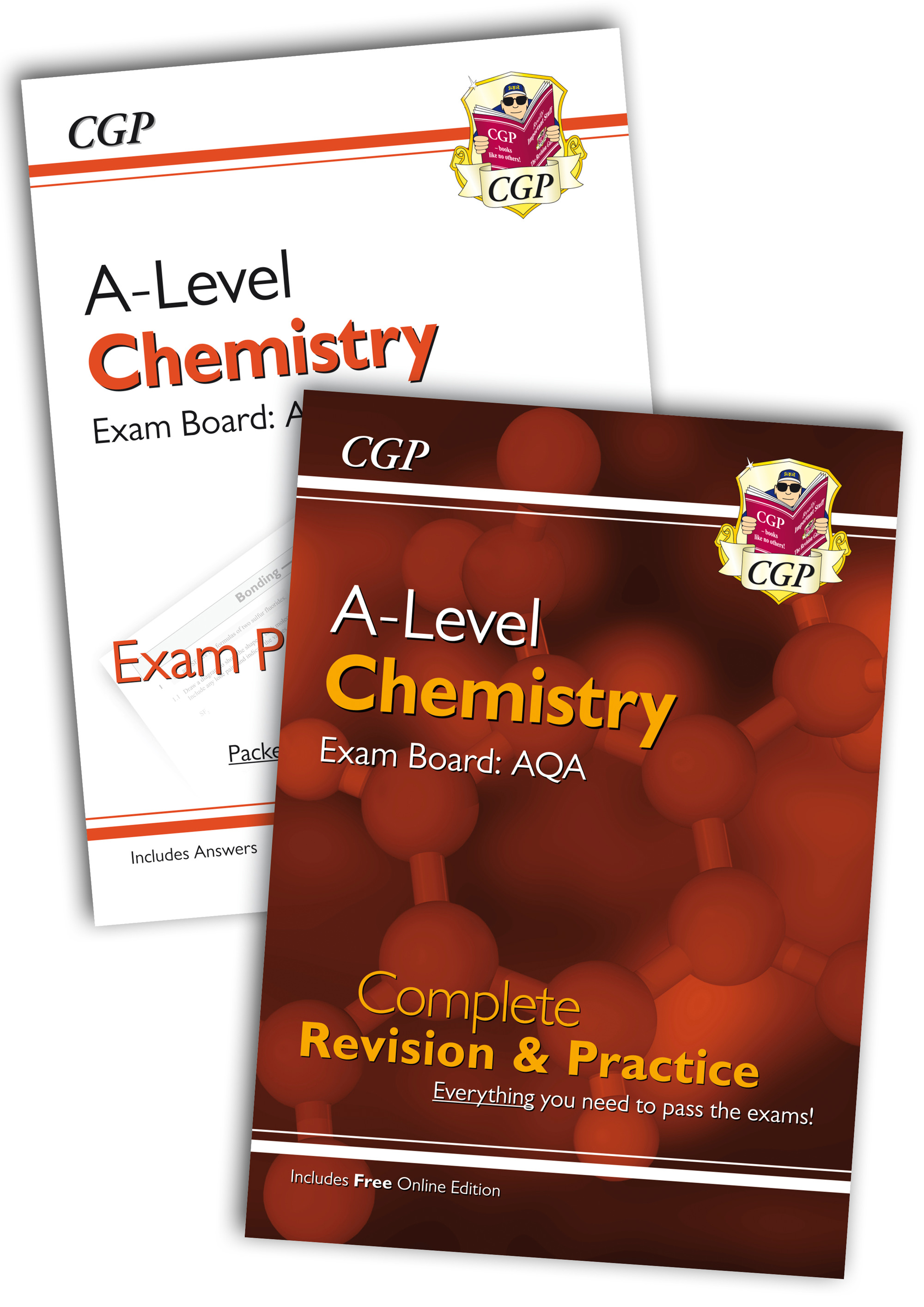 CARQB71 - Complete Revision and Exam Practice A-Level Chemistry Bundle: AQA Year 1 & 2