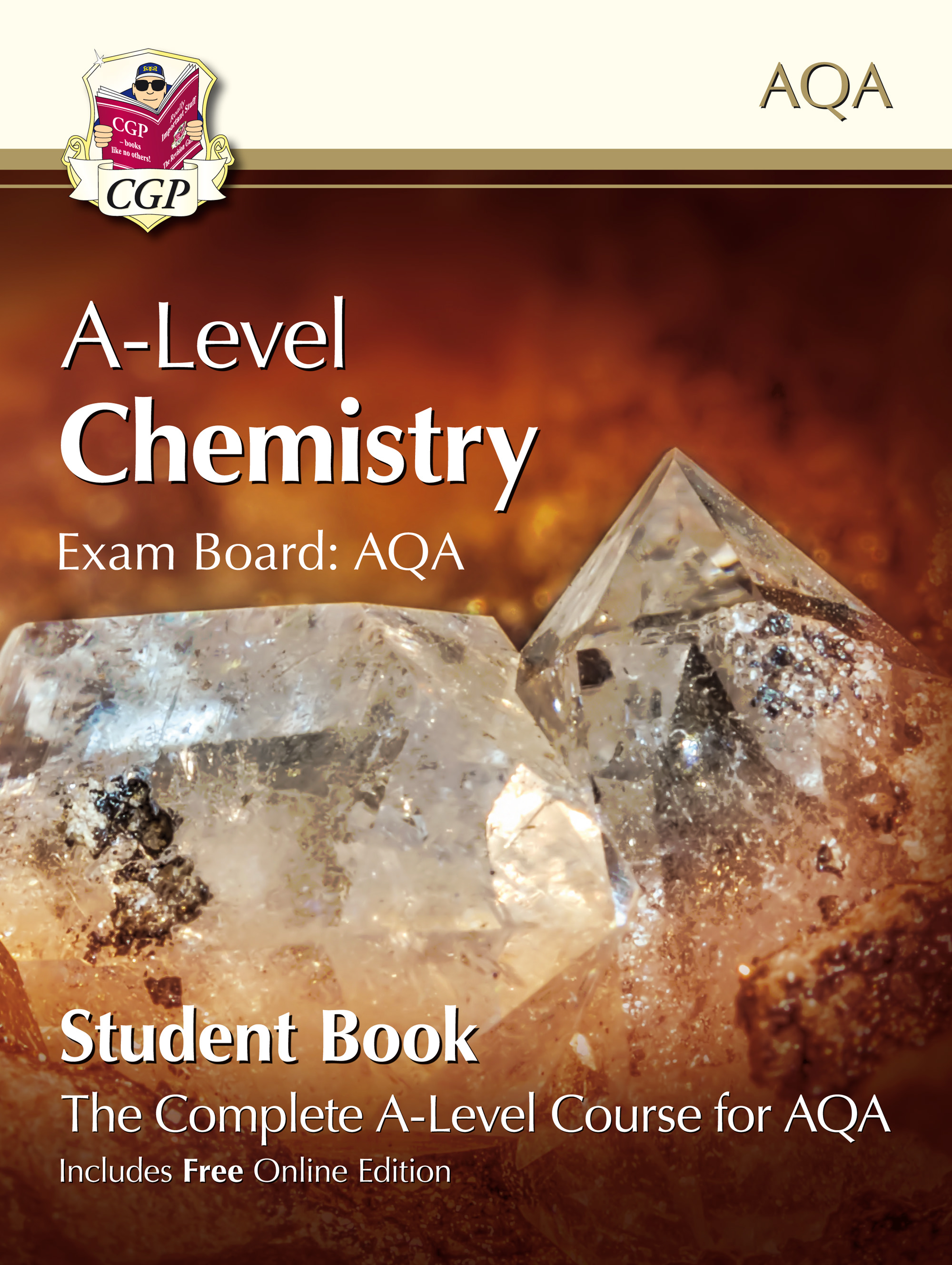 CATB72 - New A-Level Chemistry for AQA: Year 1 & 2 Student Book with Online Edition