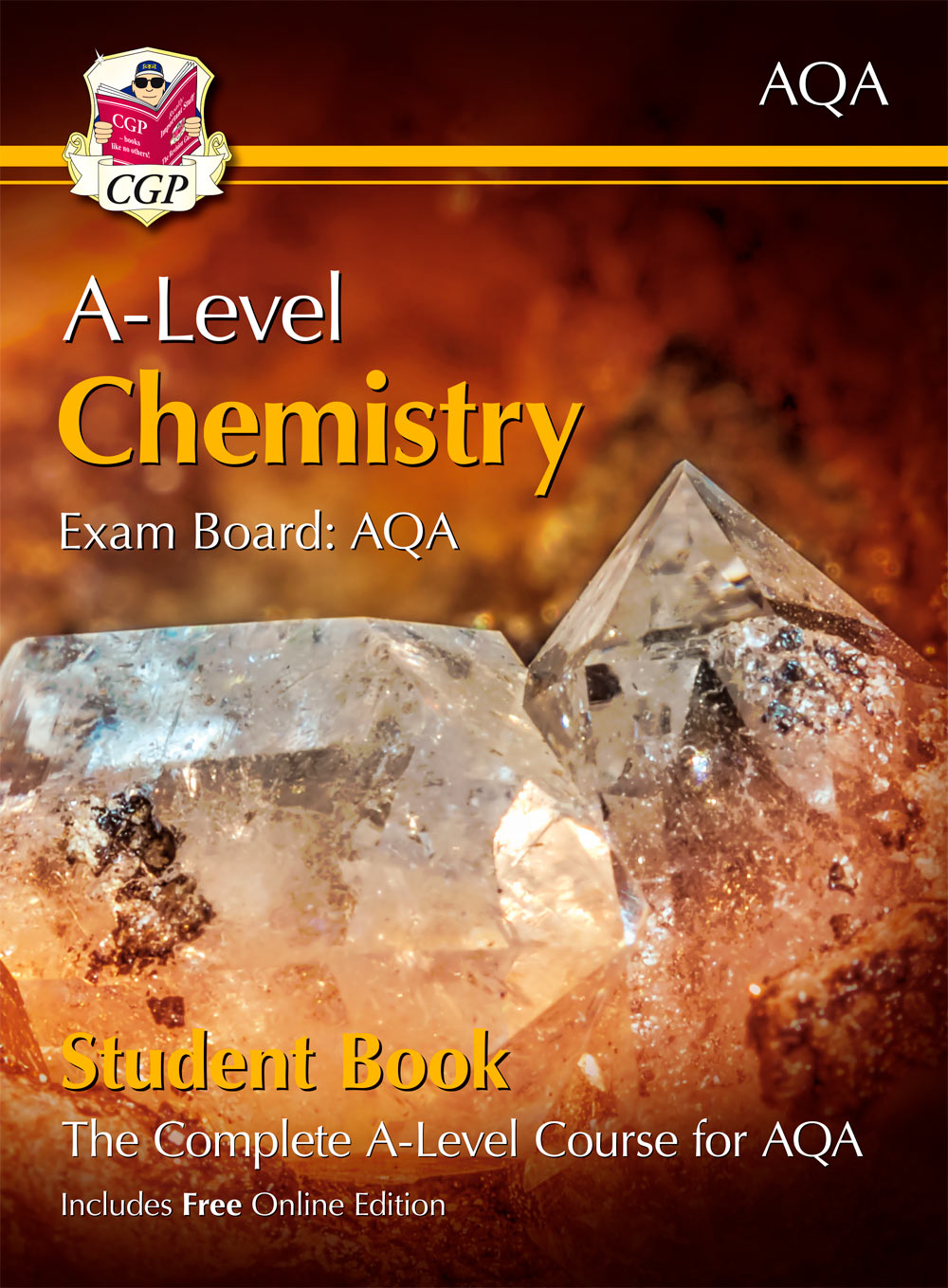 CATB73 - A-Level Chemistry for AQA: Year 1 & 2 Student Book with Online Edition