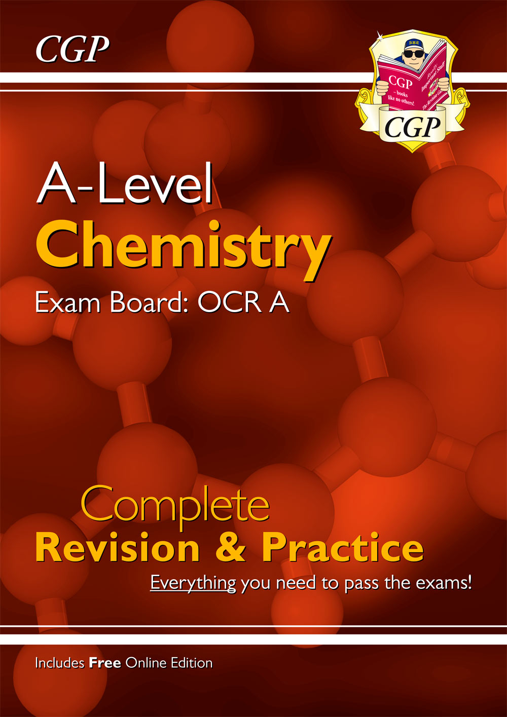 CRAR73 - New A-Level Chemistry: OCR A Year 1 & 2 Complete Revision & Practice with Online Edition