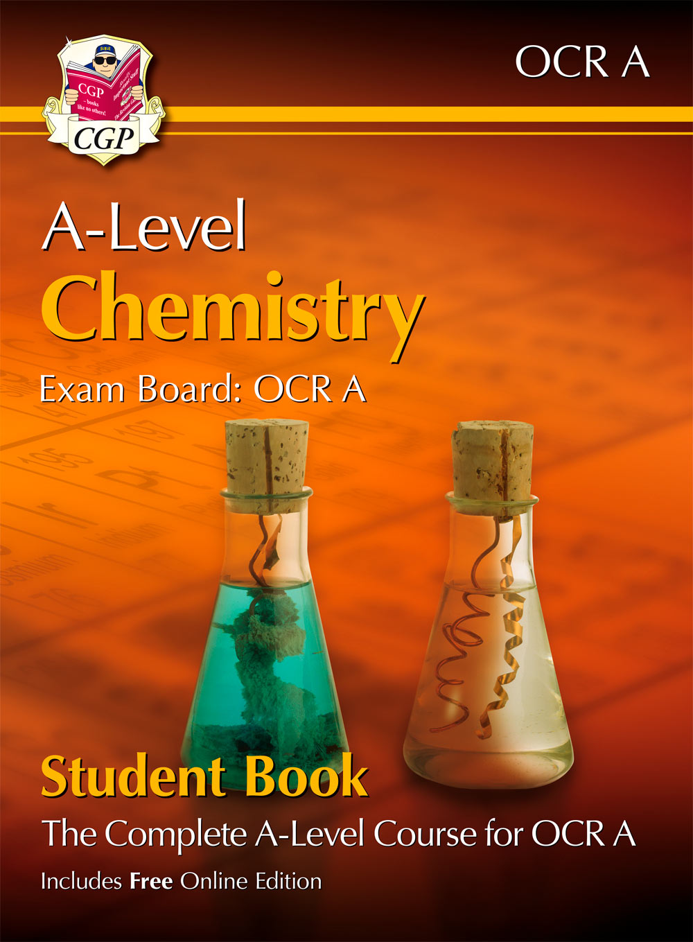 CRATB72 - New A-Level Chemistry for OCR A: Year 1 & 2 Student Book with Online Edition