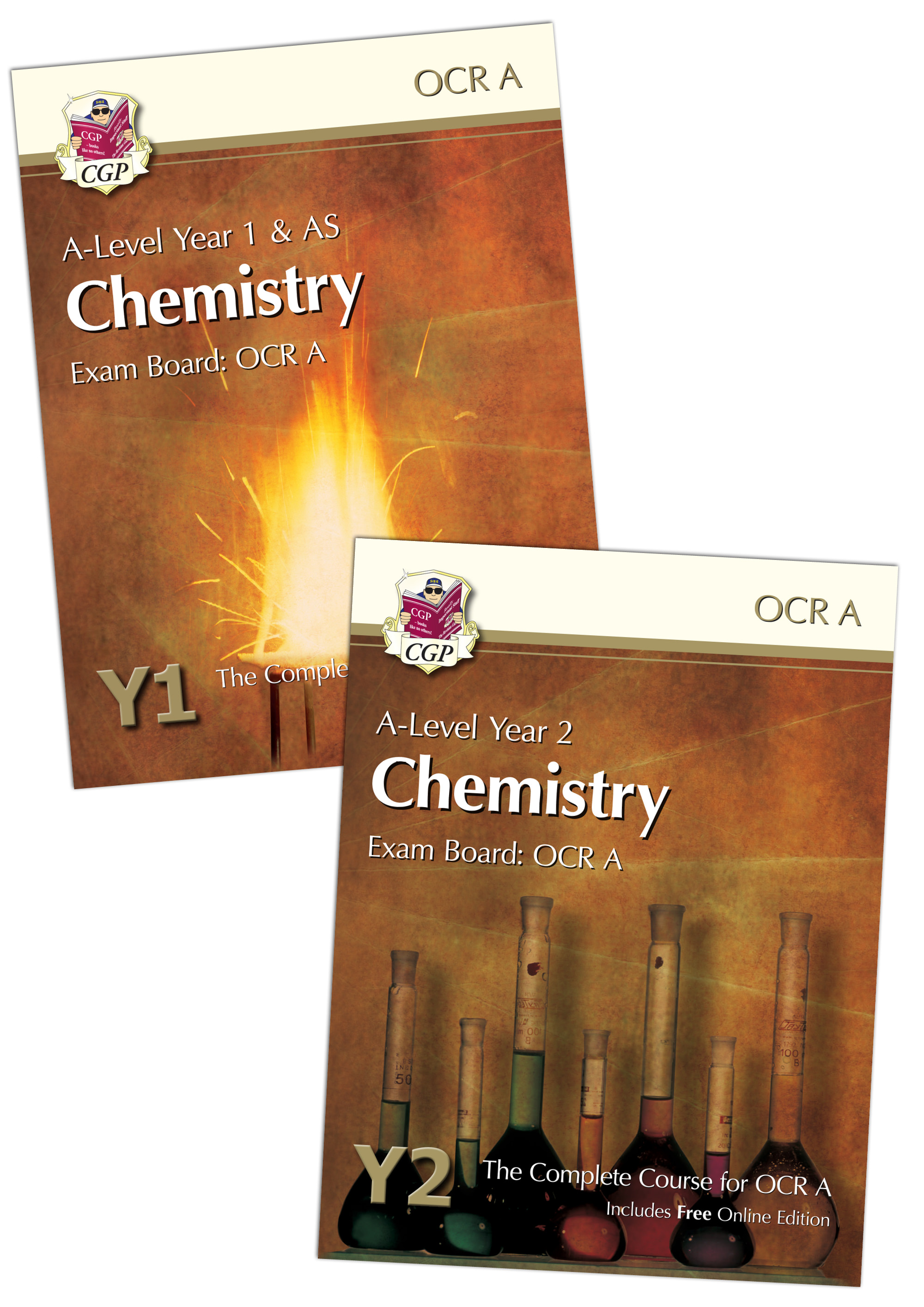 CRATBB71 - A-Level Chemistry for OCR A Student Book Bundle: Year 1 & 2 (with Online Editions)