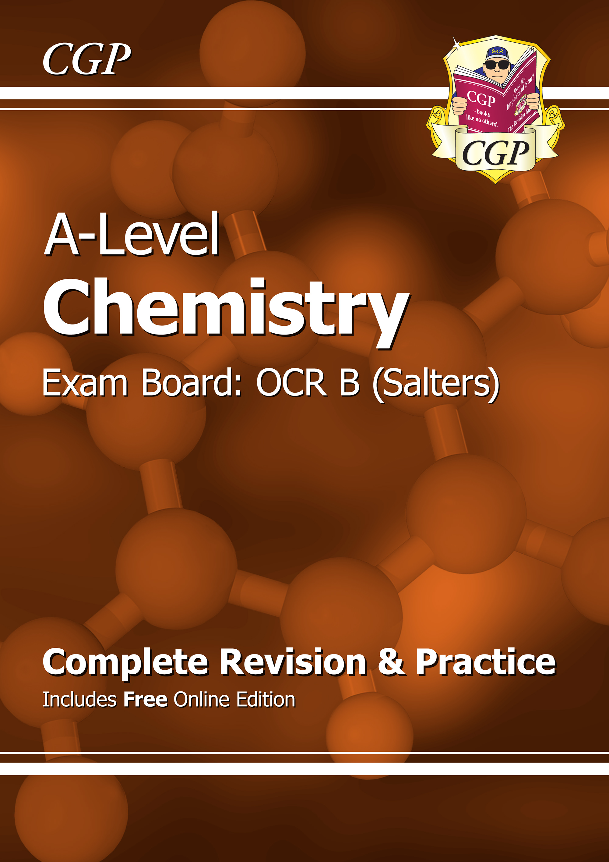 CRBR72 - A-Level Chemistry: OCR B Year 1 & 2 Complete Revision & Practice with Online Edition