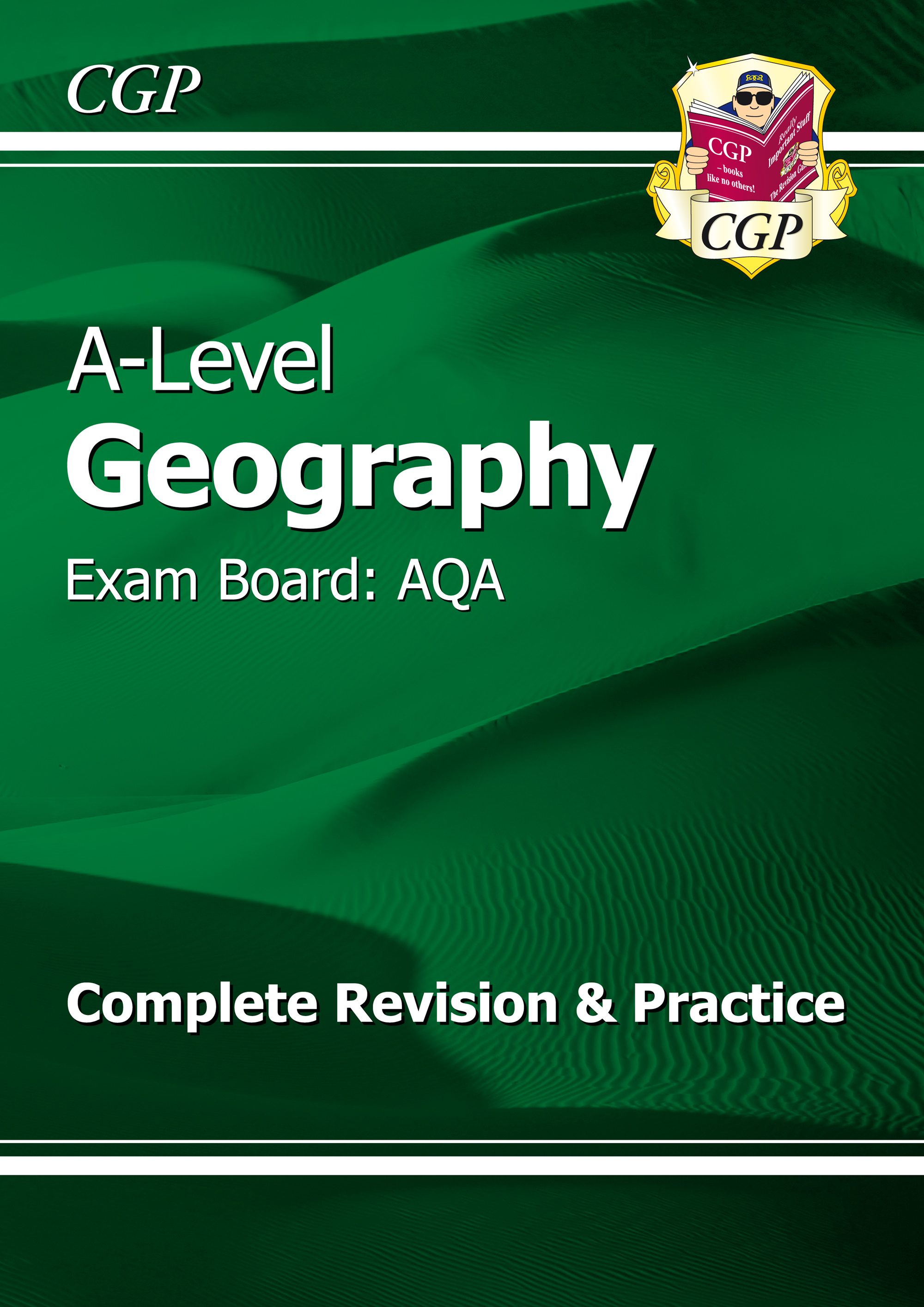 GAR72 - New A-Level Geography: AQA Year 1 & 2 Complete Revision & Practice